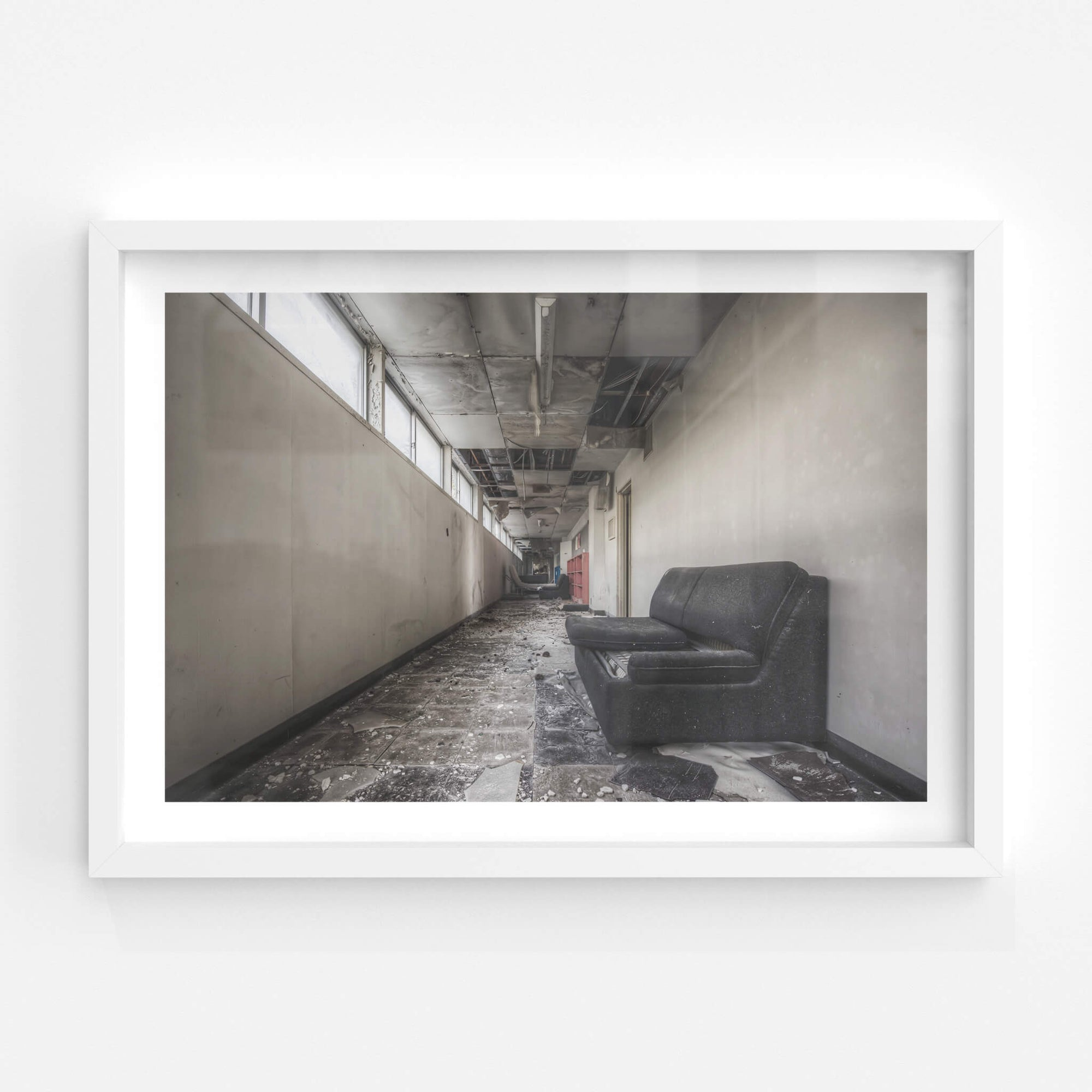Corridor | Family School Fureai Fine Art Print - Lost Collective Shop