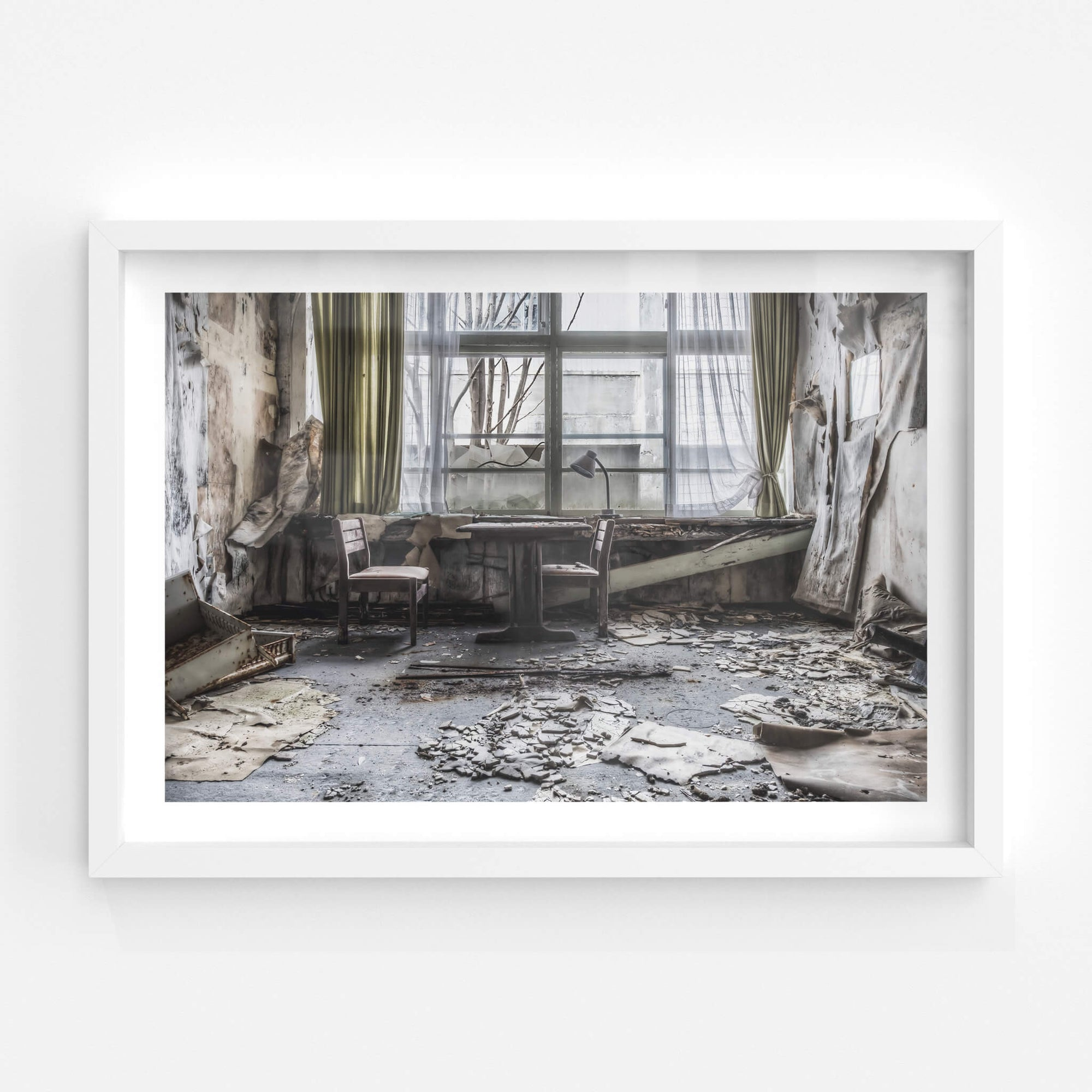 Decaying Tuition Room | Family School Fureai Fine Art Print - Lost Collective Shop
