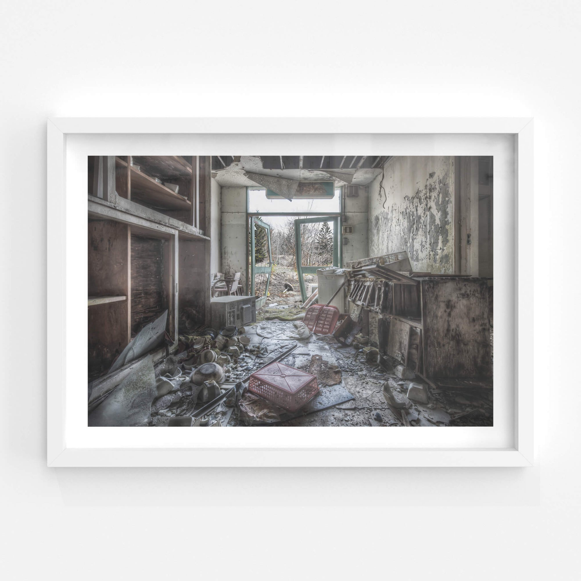 Dining Storage | Family School Fureai Fine Art Print - Lost Collective Shop