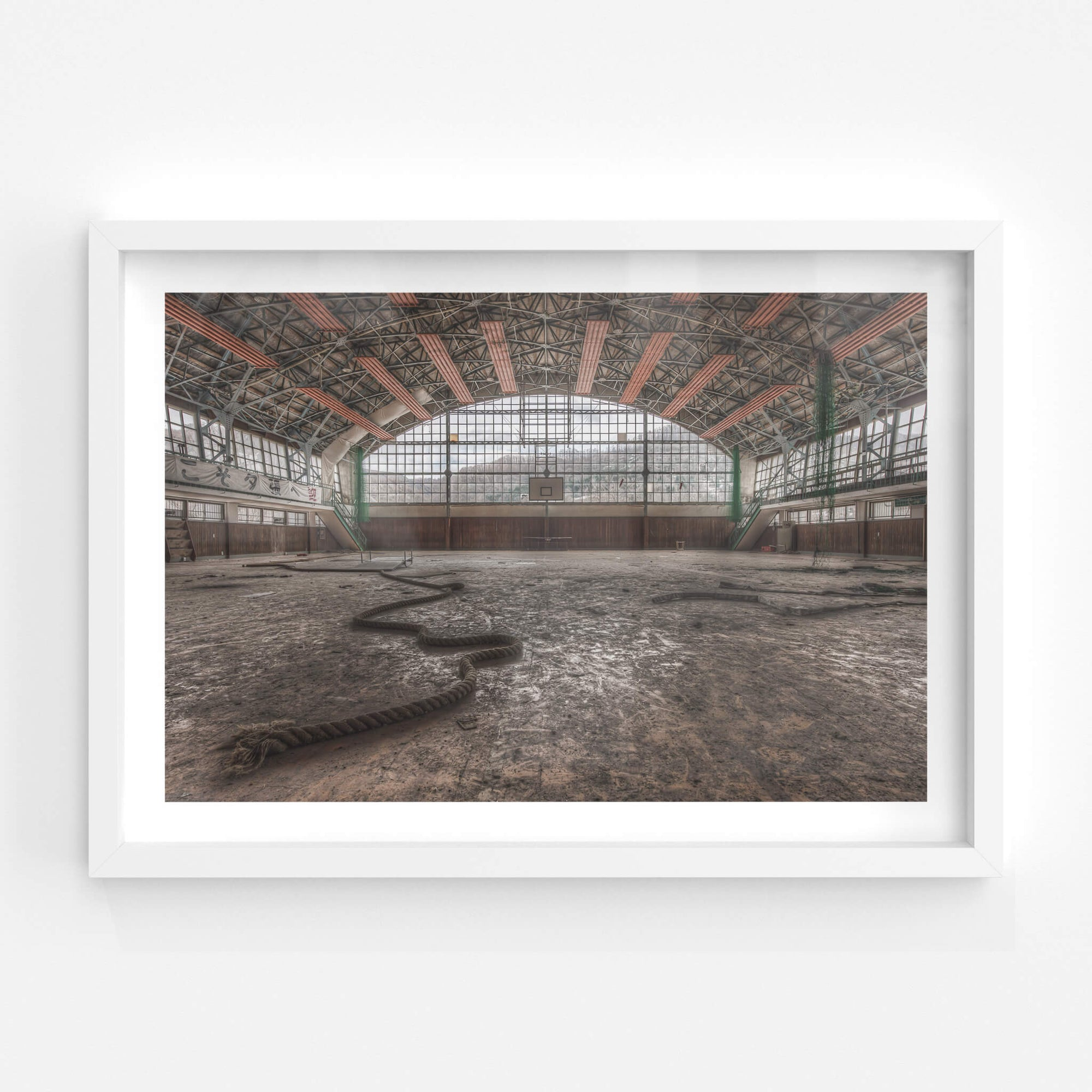 Gymnasium | Family School Fureai Fine Art Print - Lost Collective Shop