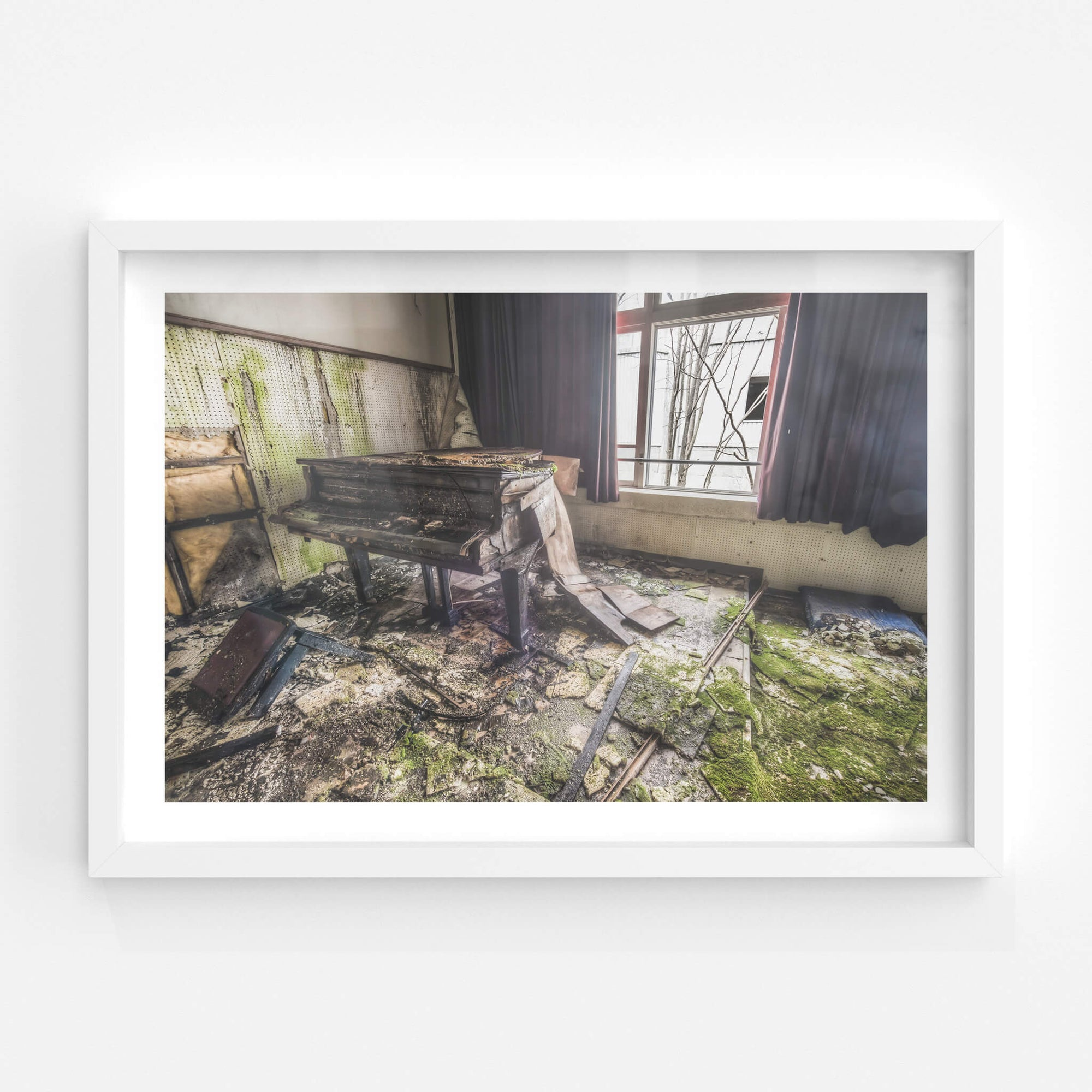 Piano | Family School Fureai Fine Art Print - Lost Collective Shop