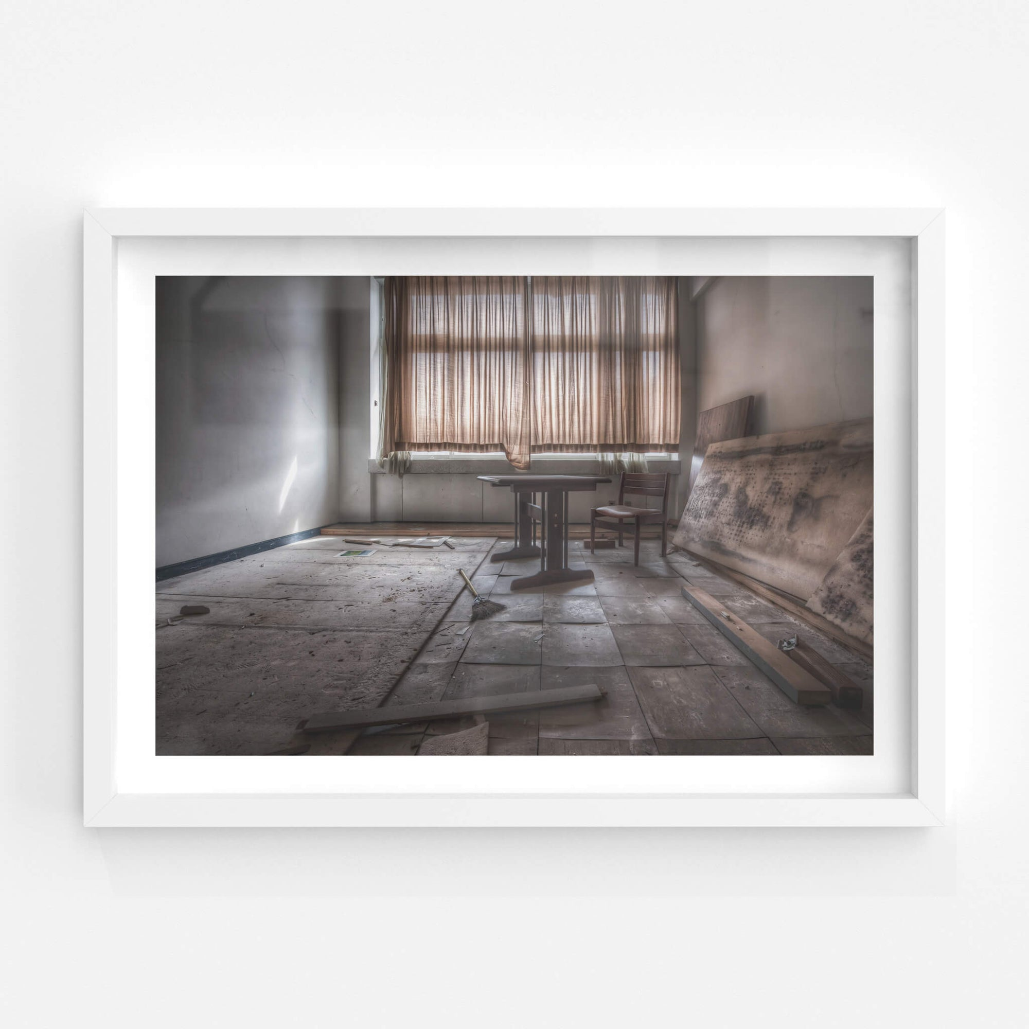 Study Room | Family School Fureai Fine Art Print - Lost Collective Shop