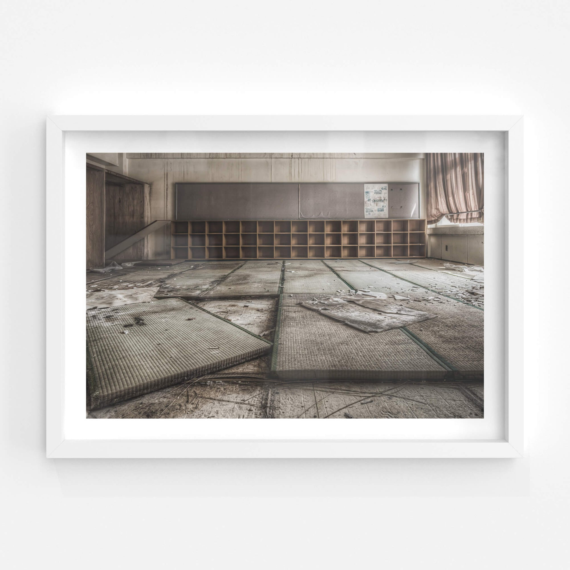 Tatami Mats | Family School Fureai Fine Art Print - Lost Collective Shop