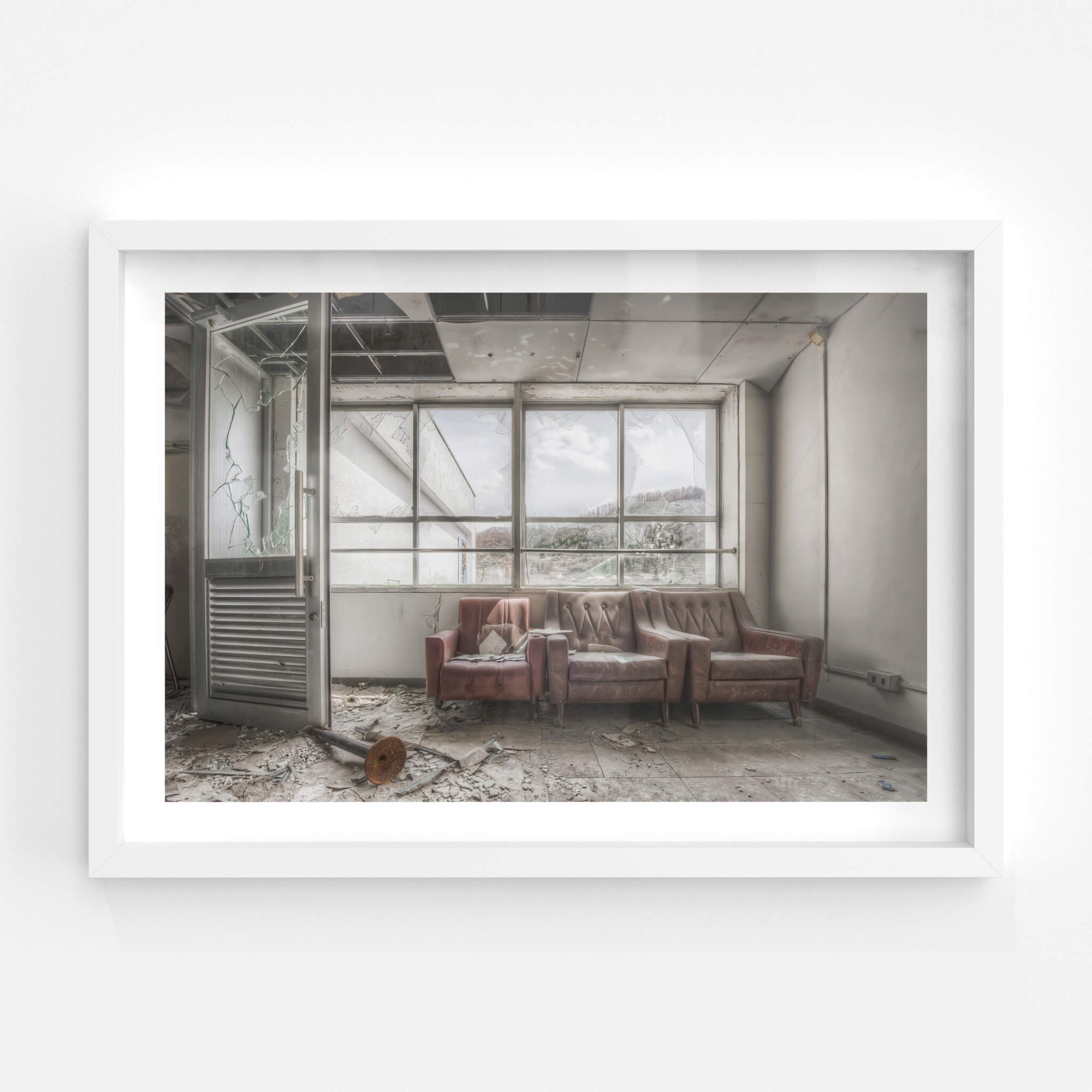 Waiting Area | Family School Fureai Fine Art Print - Lost Collective Shop