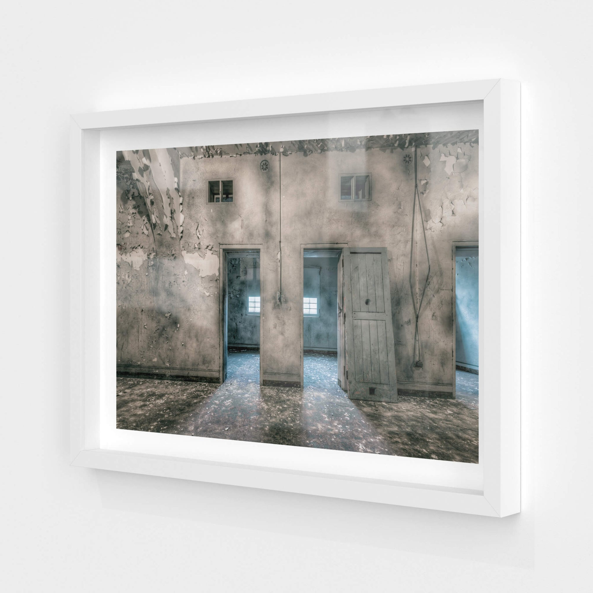 Cell Doors | Female Ward 9 & 10 Fine Art Print - Lost Collective Shop