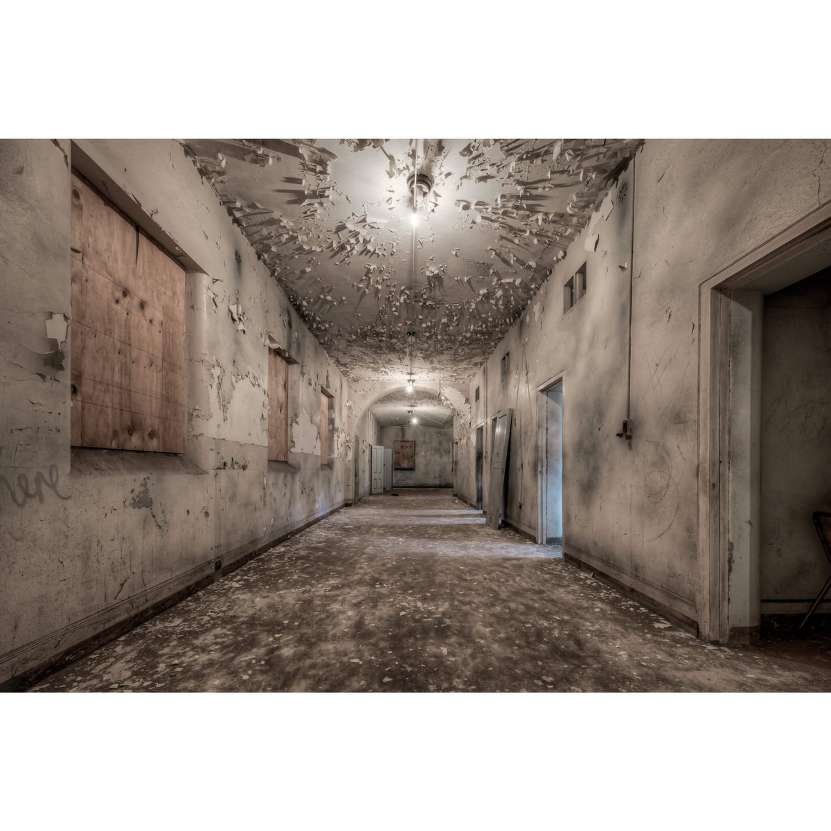 Kirkbride Cells | Female Ward 9 & 10 Fine Art Print - Lost Collective Shop