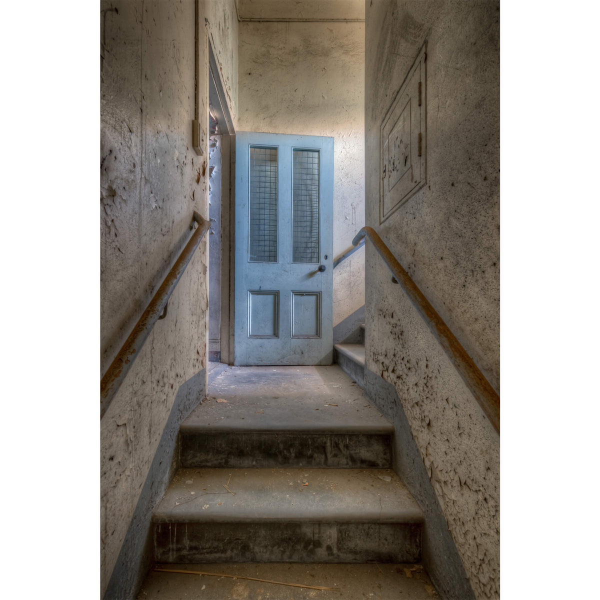Stairwell | Female Ward 9 & 10 Fine Art Print - Lost Collective Shop
