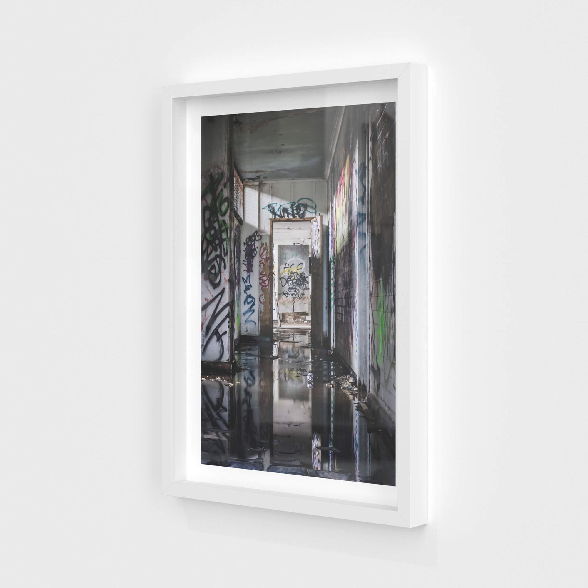Reflections | Geelong B Power Station Fine Art Print - Lost Collective Shop