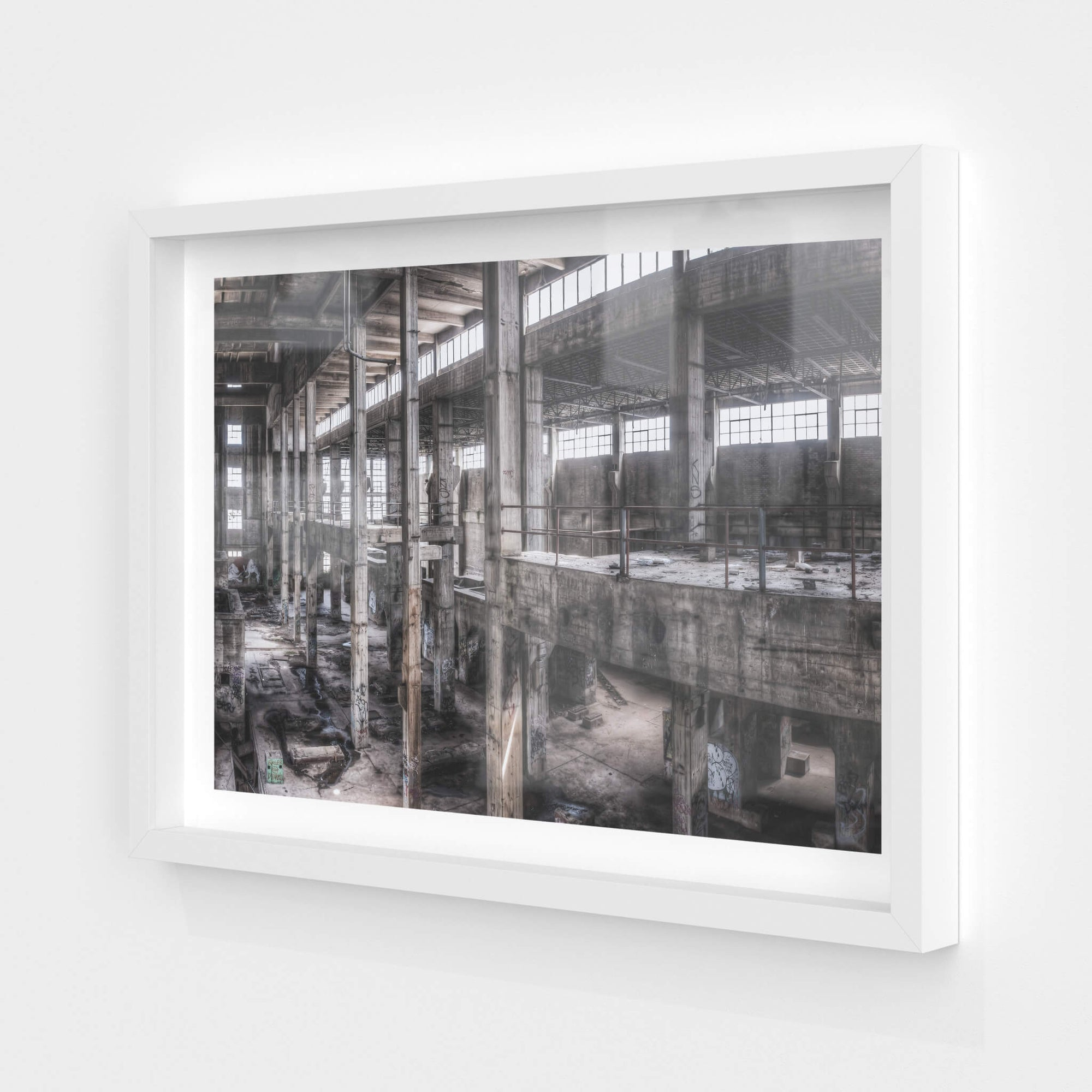 Turbine Hall Panorama | Geelong B Power Station Fine Art Print - Lost Collective Shop
