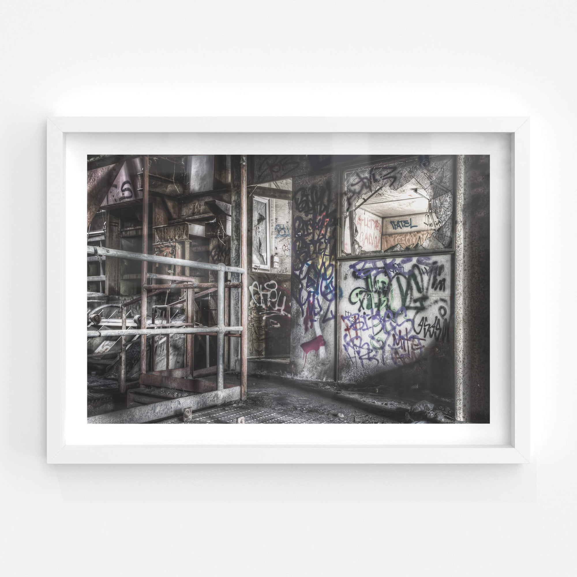 Control Room Entrance | Hornsby Quarry Fine Art Print - Lost Collective Shop