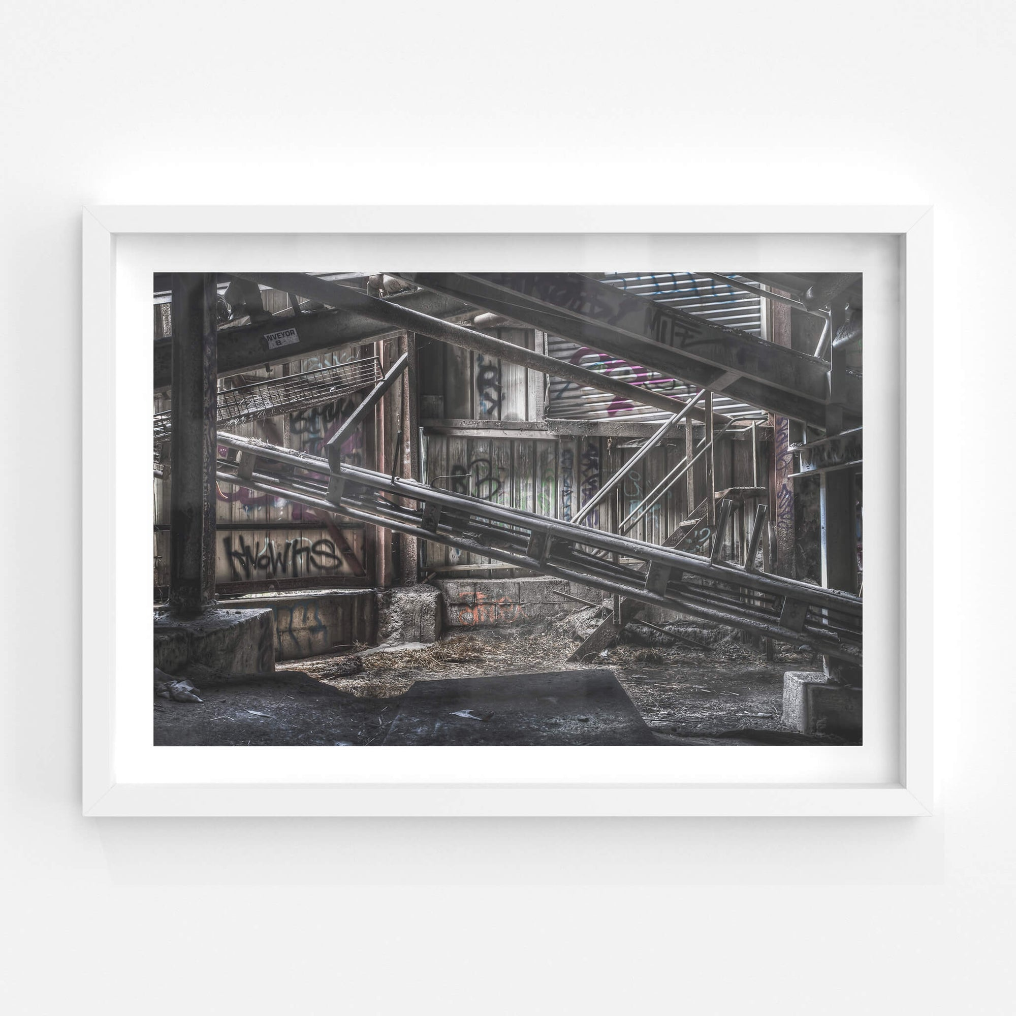 Conveyor Eight | Hornsby Quarry Fine Art Print - Lost Collective Shop