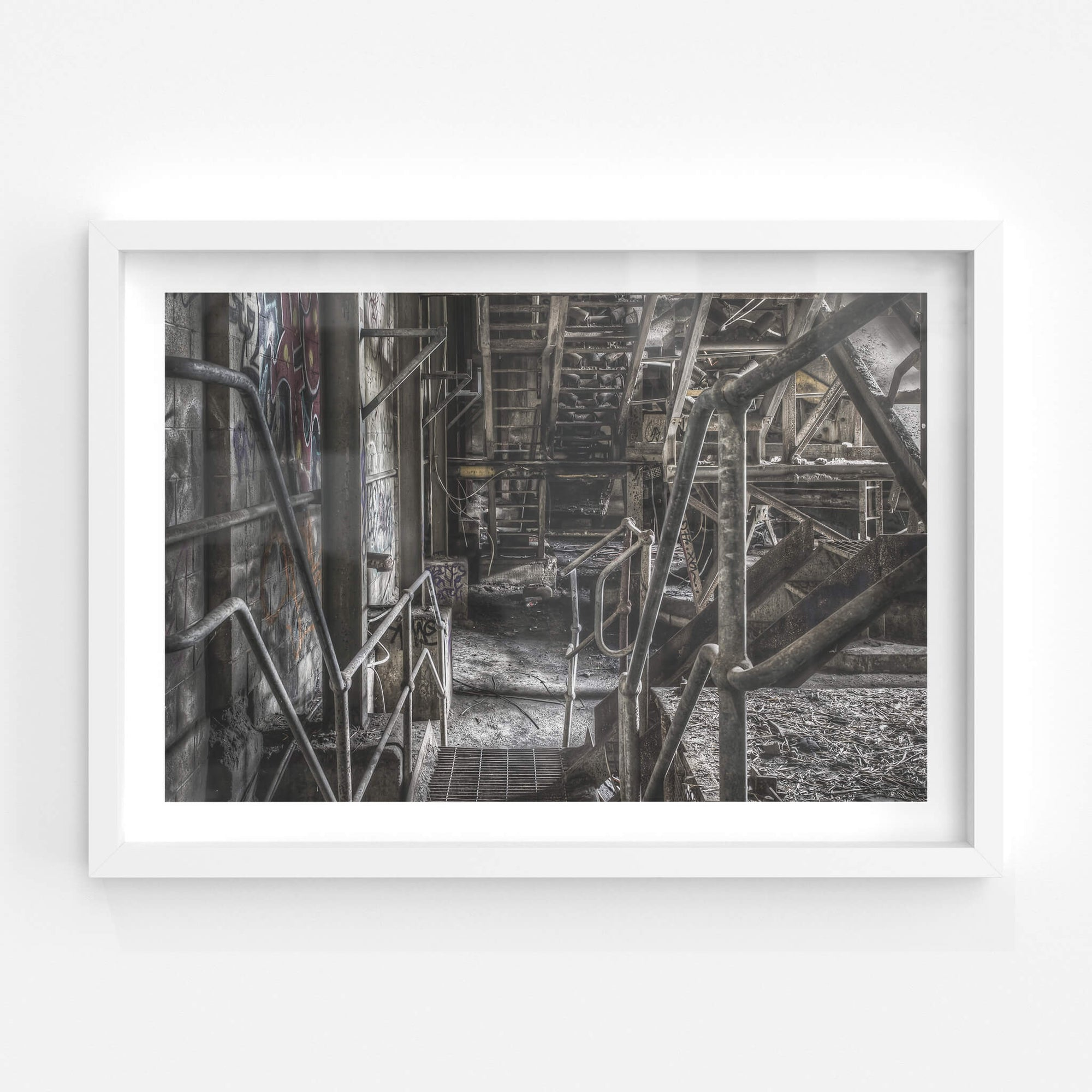 Ground Level | Hornsby Quarry Fine Art Print - Lost Collective Shop