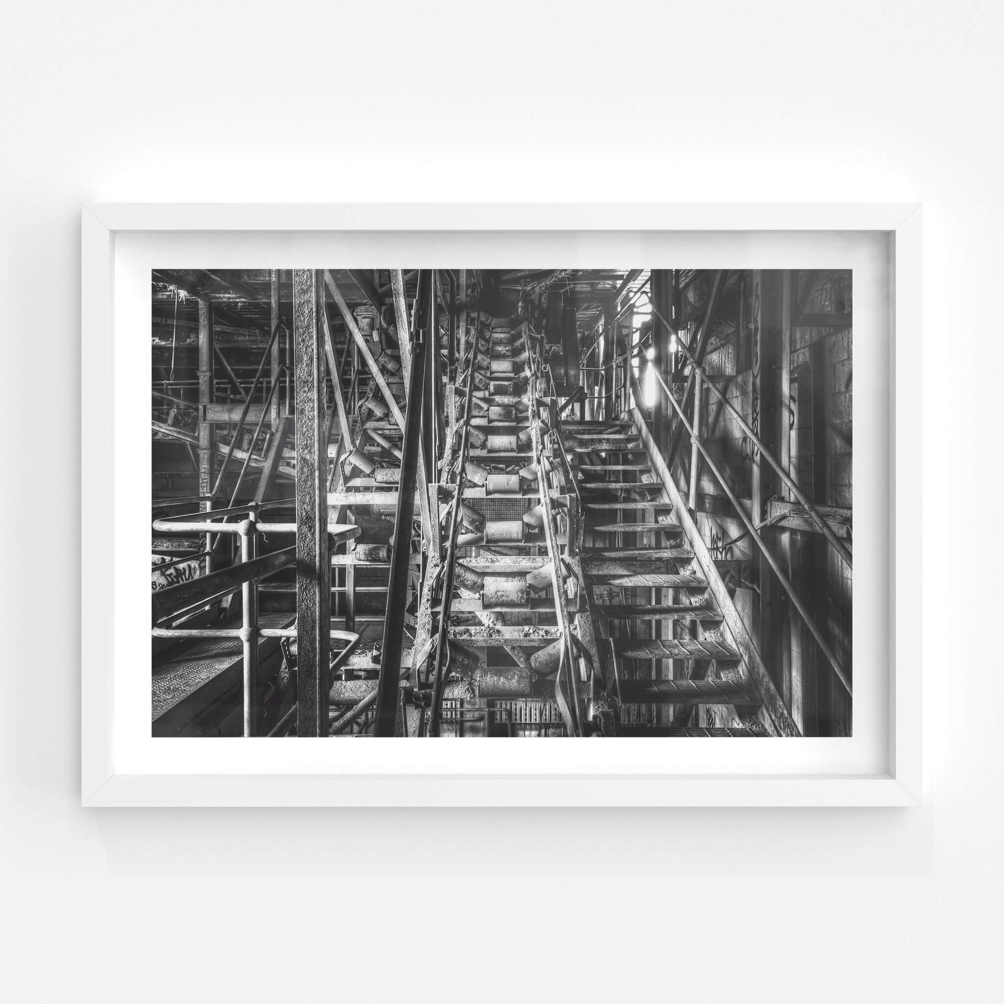 Main Conveyor | Hornsby Quarry Fine Art Print - Lost Collective Shop