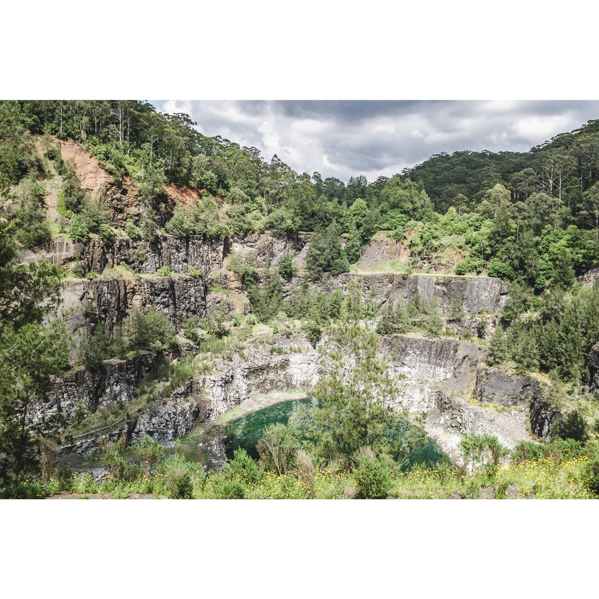 Quarry Void | Hornsby Quarry Fine Art Print - Lost Collective Shop