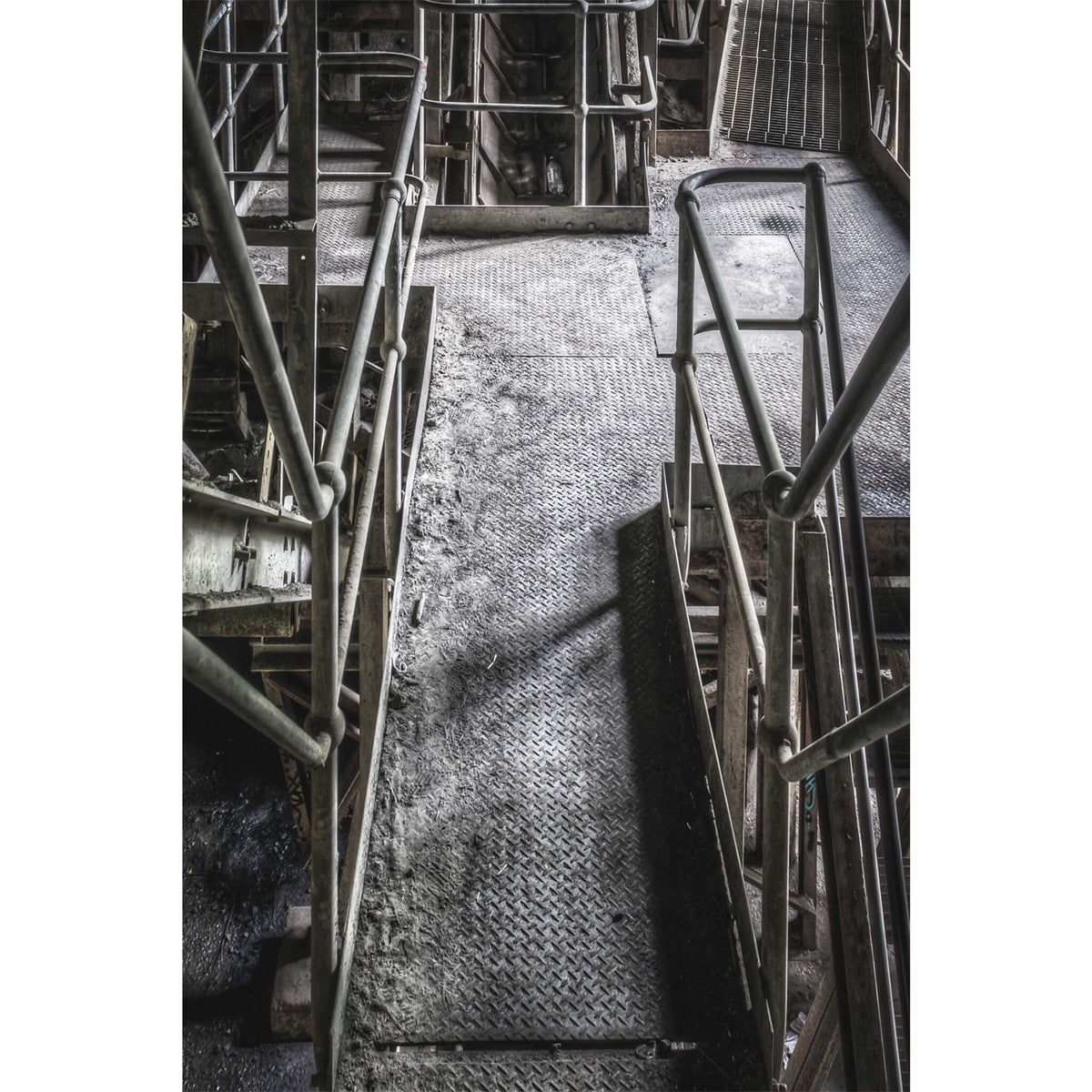 Stairs Down | Hornsby Quarry Fine Art Print - Lost Collective Shop