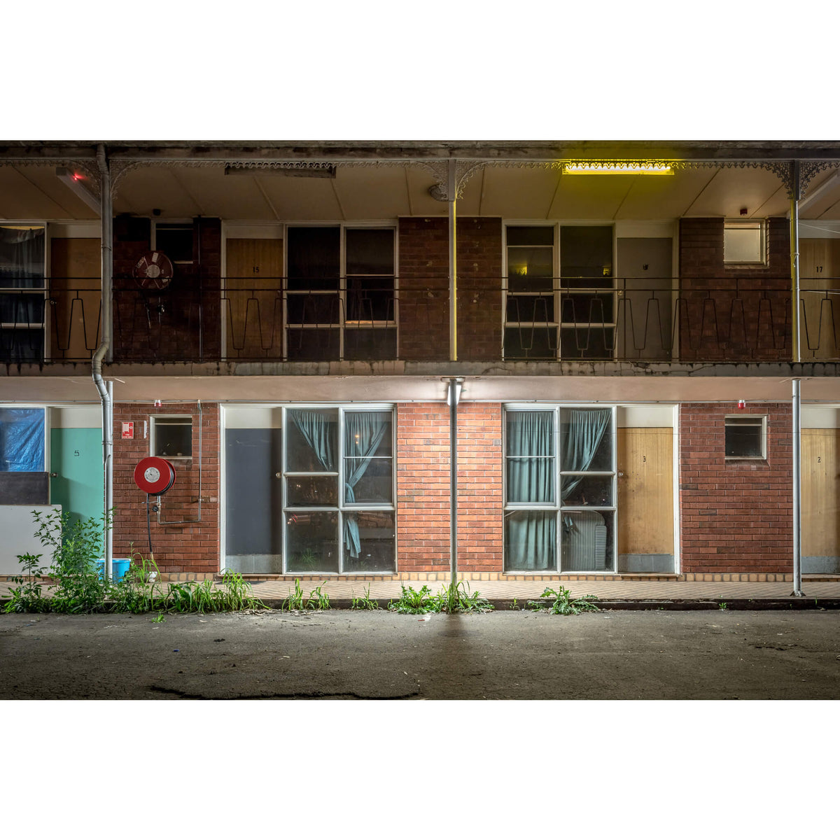 Grandstand Motel, Warwick Farm | Hotel Motel 101 Fine Art Print - Lost Collective Shop