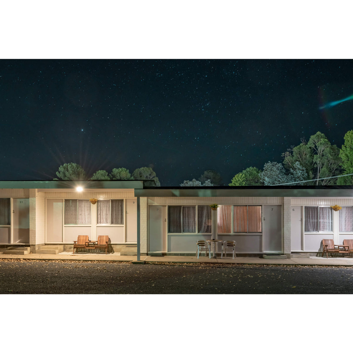 Lithgow Valley Motel, Bowenfels | Hotel Motel 101 Fine Art Print - Lost Collective Shop