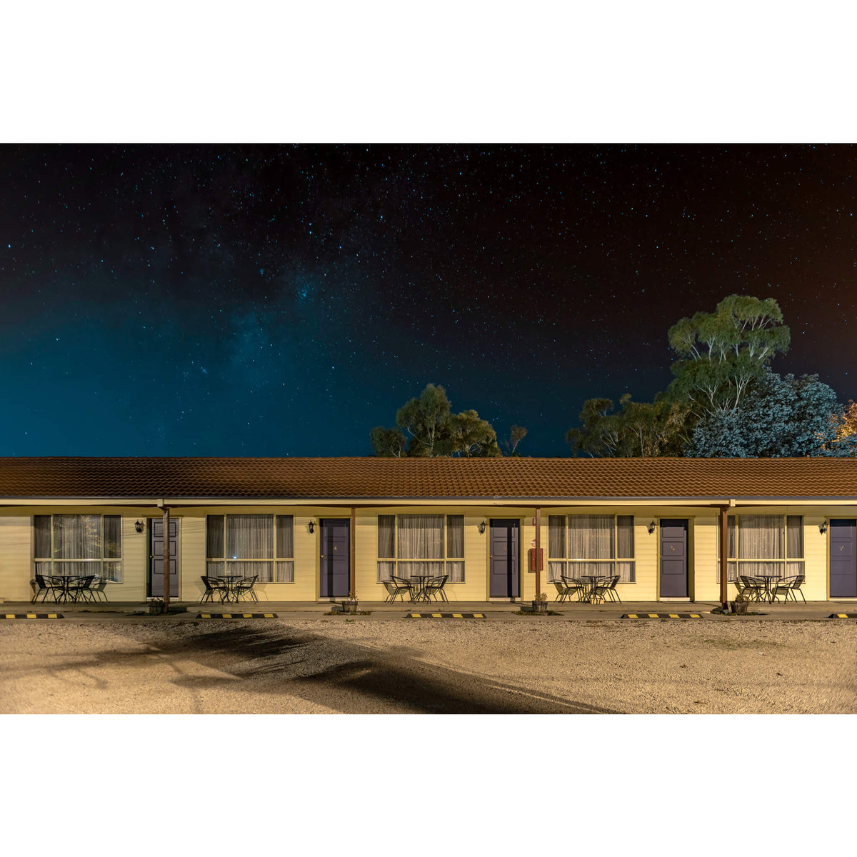 Parkside Motor Inn, Lithgow | Hotel Motel 101 Fine Art Print - Lost Collective Shop