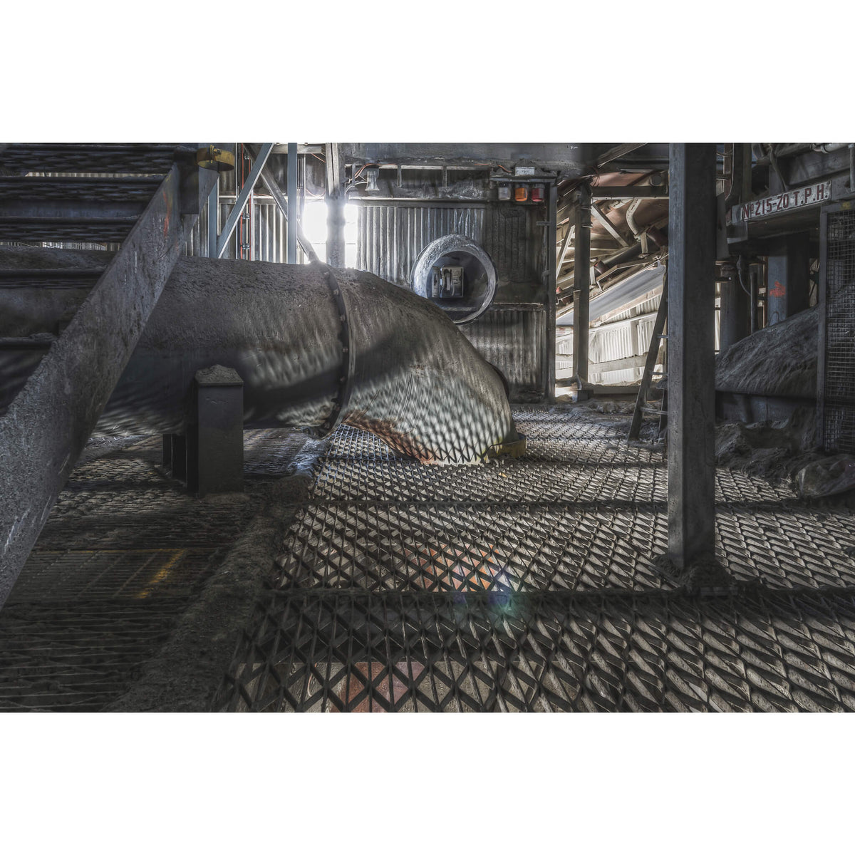 Cement Mill Duct | Kandos Cement Works Fine Art Print - Lost Collective Shop