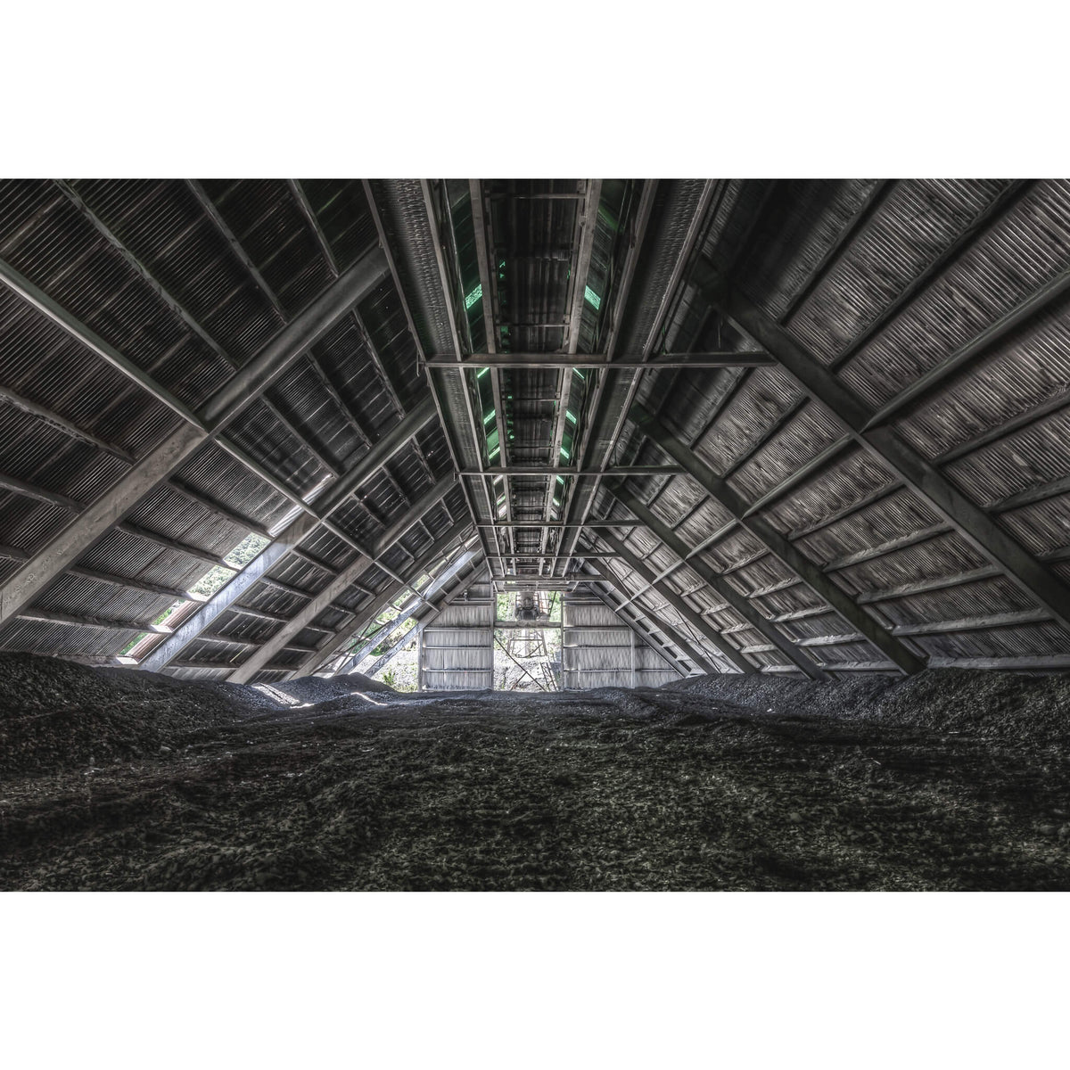Raw Stone Shed | Kandos Cement Works Fine Art Print - Lost Collective Shop