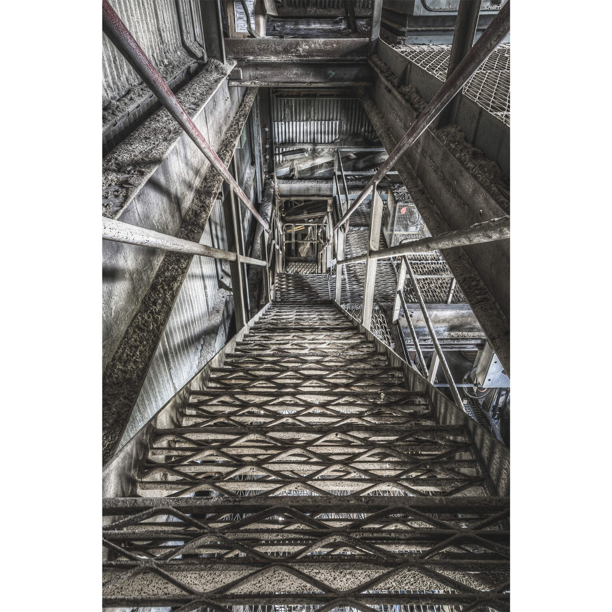 Stairs | Kandos Cement Works