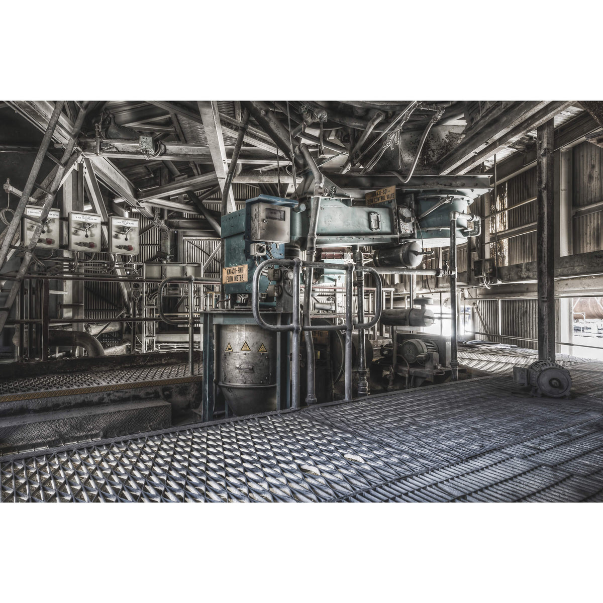 Weigh Feeder | Kandos Cement Works Fine Art Print - Lost Collective Shop