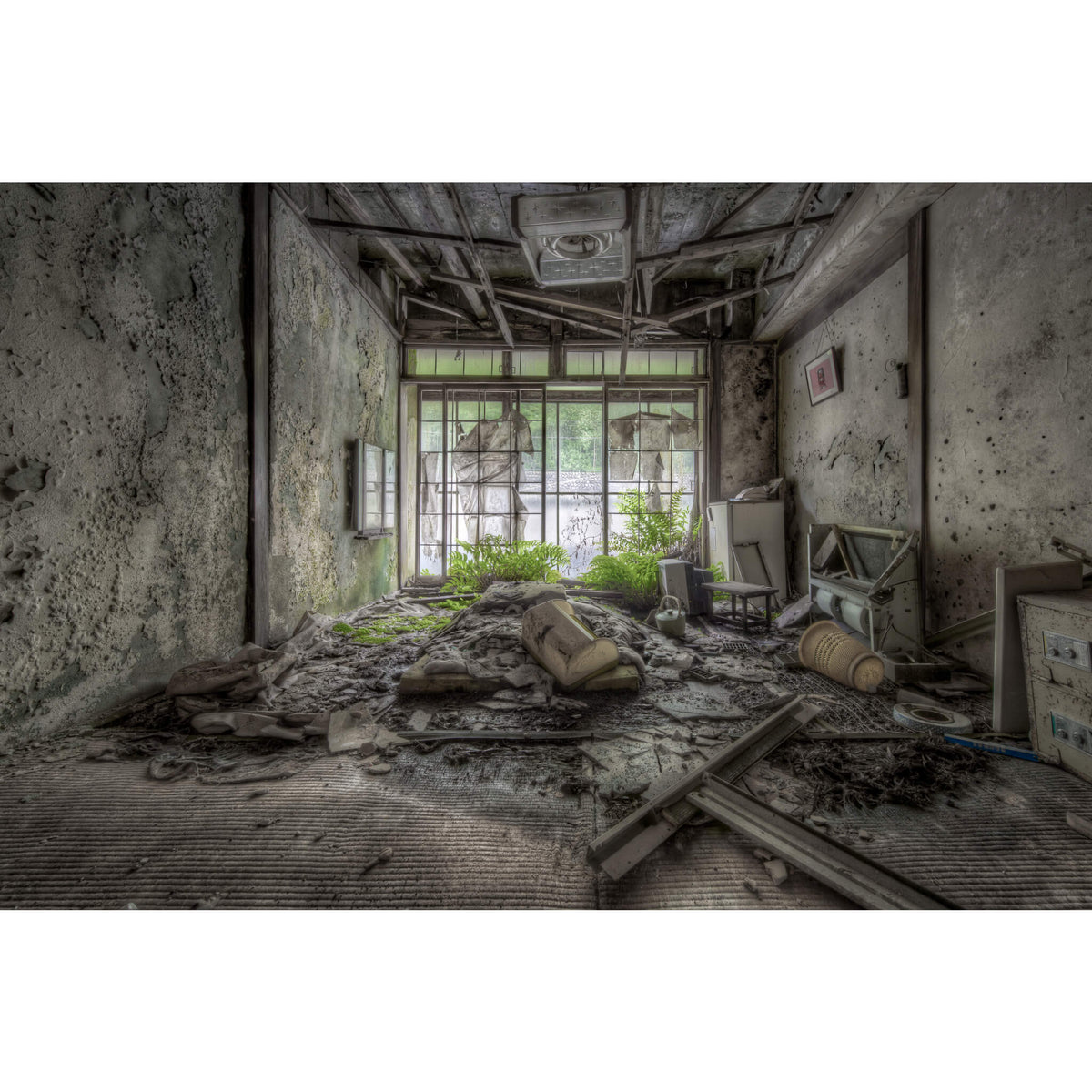 Entry Level Guest Room | Kinugawa Kan Fine Art Print - Lost Collective Shop