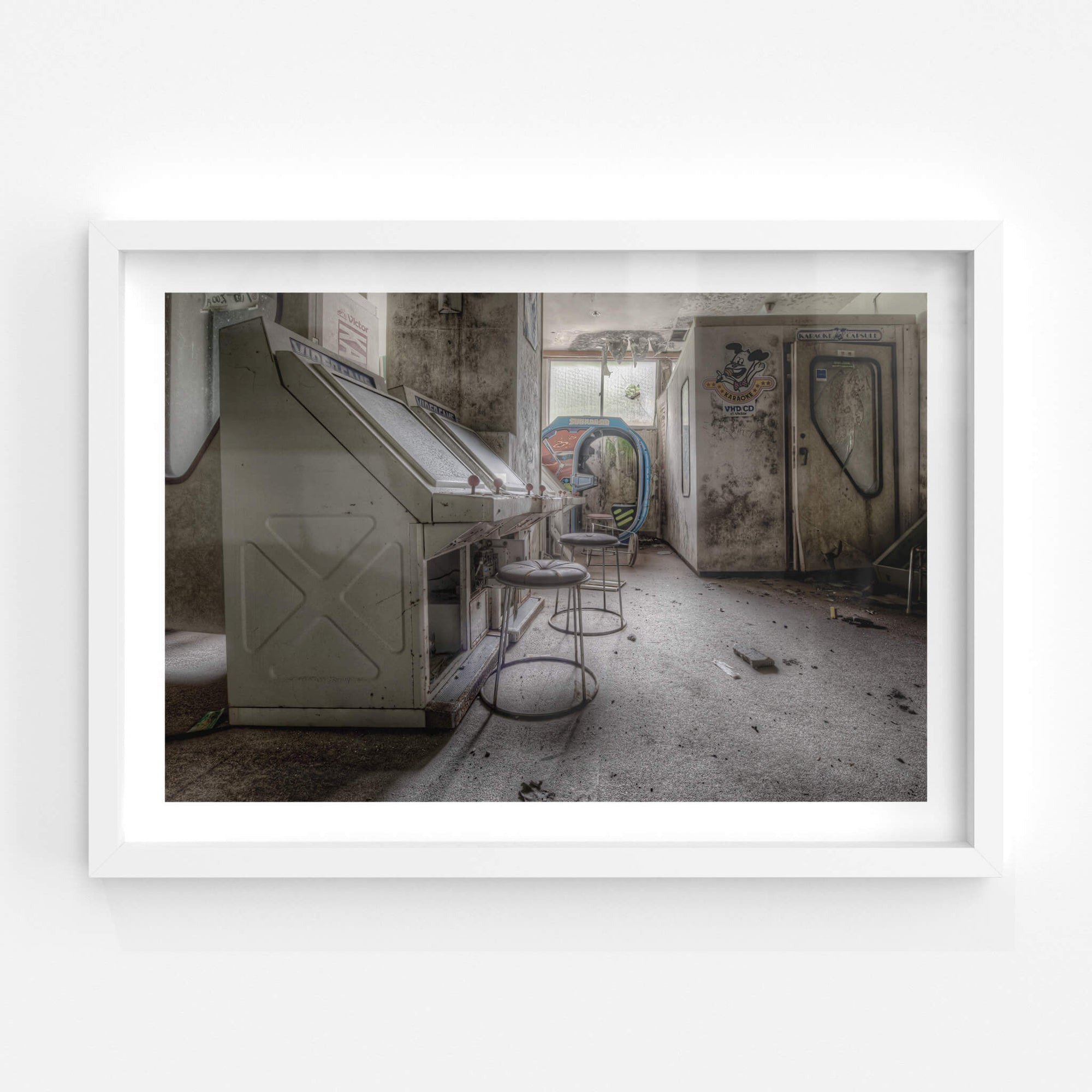 Games Room | Kinugawa Kan Fine Art Print - Lost Collective Shop