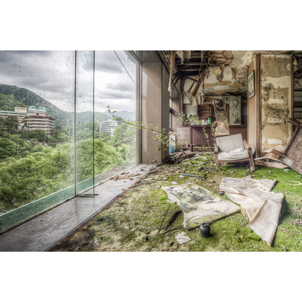 Lounge | Kinugawa Kan Fine Art Print - Lost Collective Shop