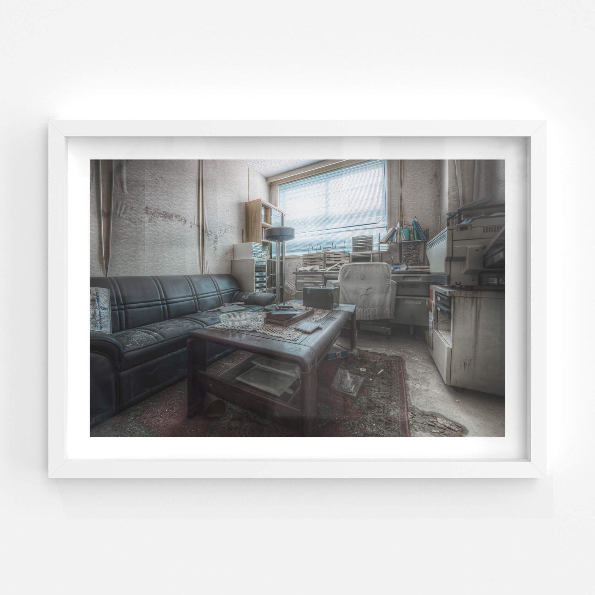 Doctors Office | Kuwashima Hospital Fine Art Print - Lost Collective Shop