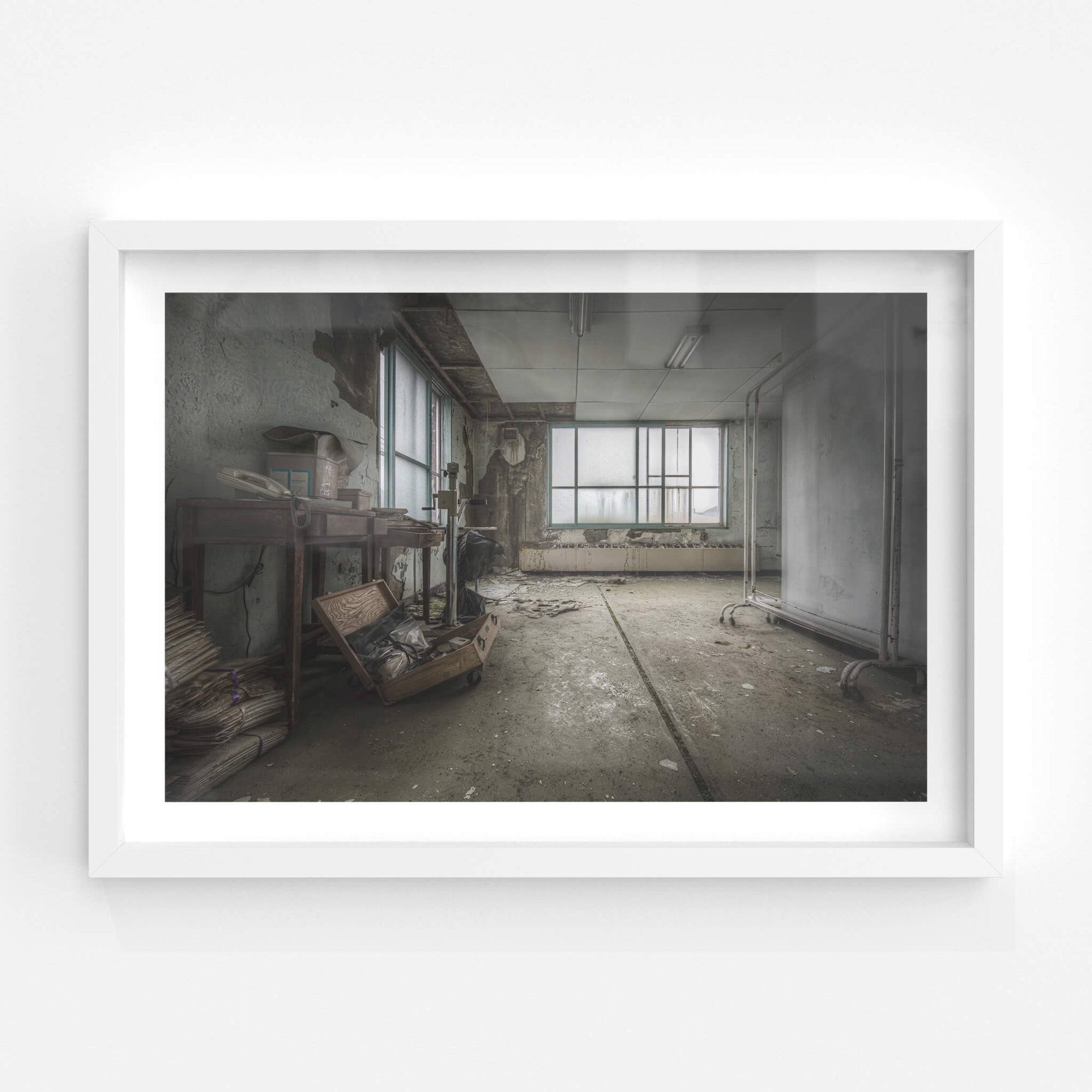 Drying Room | Kuwashima Hospital Fine Art Print - Lost Collective Shop