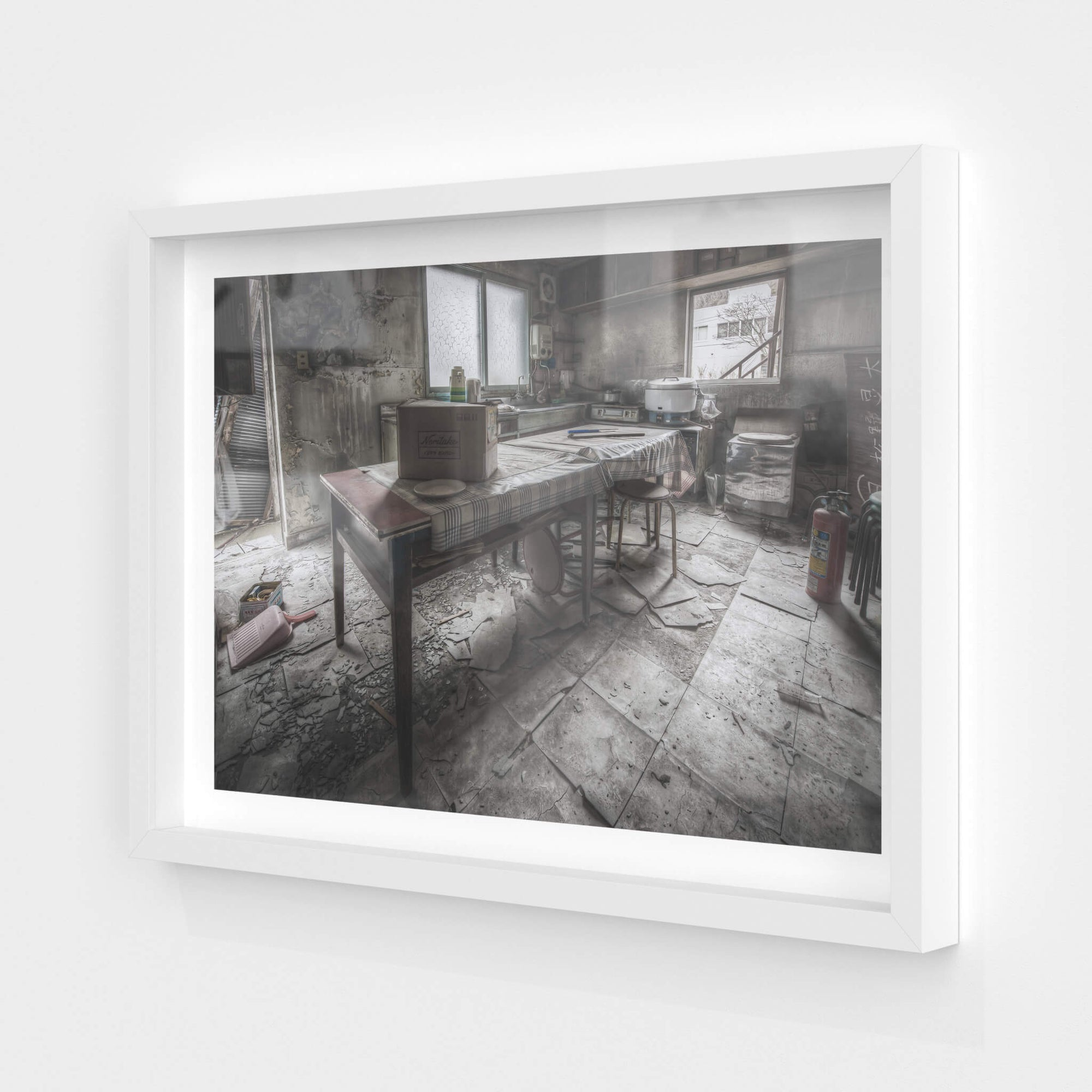 Kitchen And Dining Room | Kuwashima Hospital Fine Art Print - Lost Collective Shop
