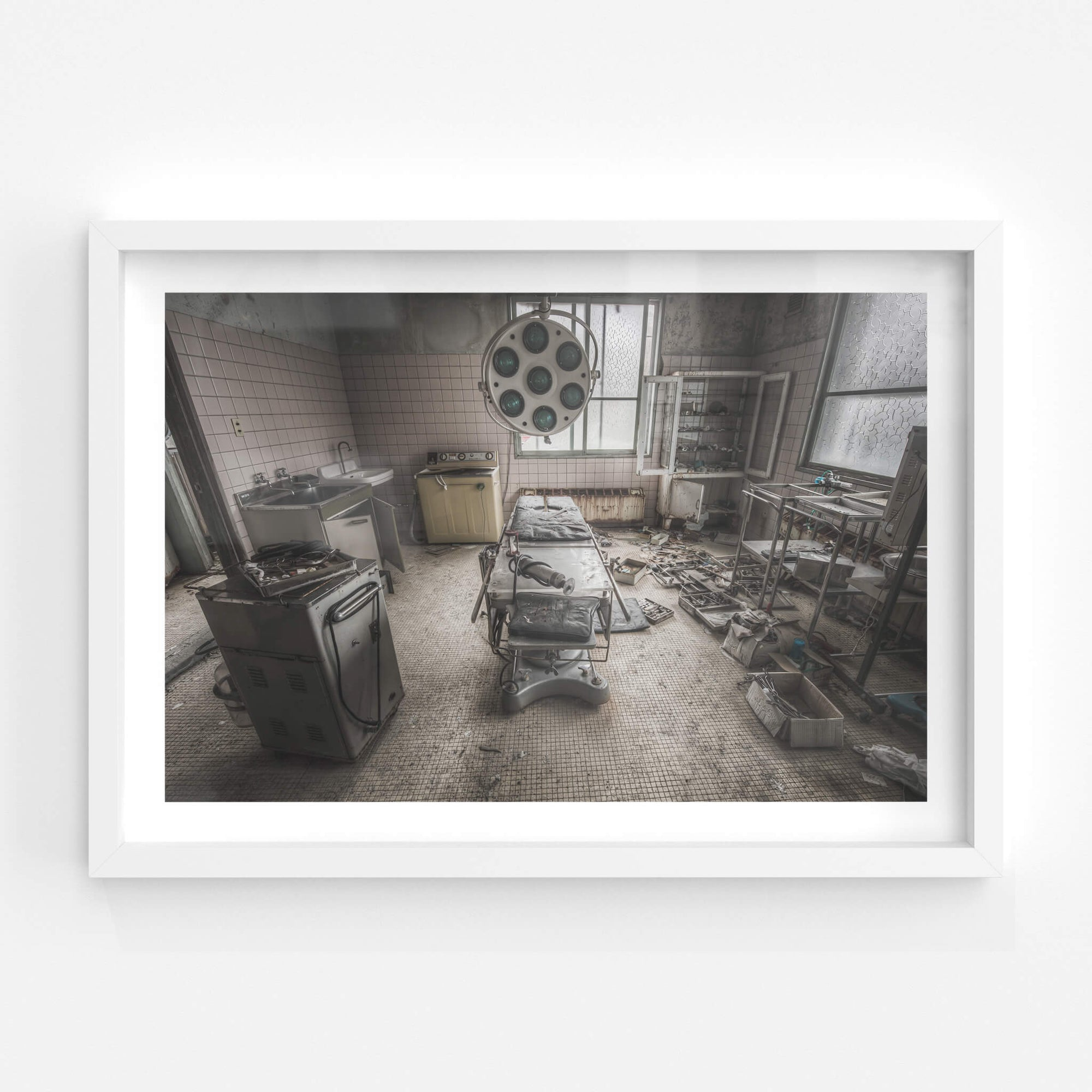 Operating Table | Kuwashima Hospital Fine Art Print - Lost Collective Shop