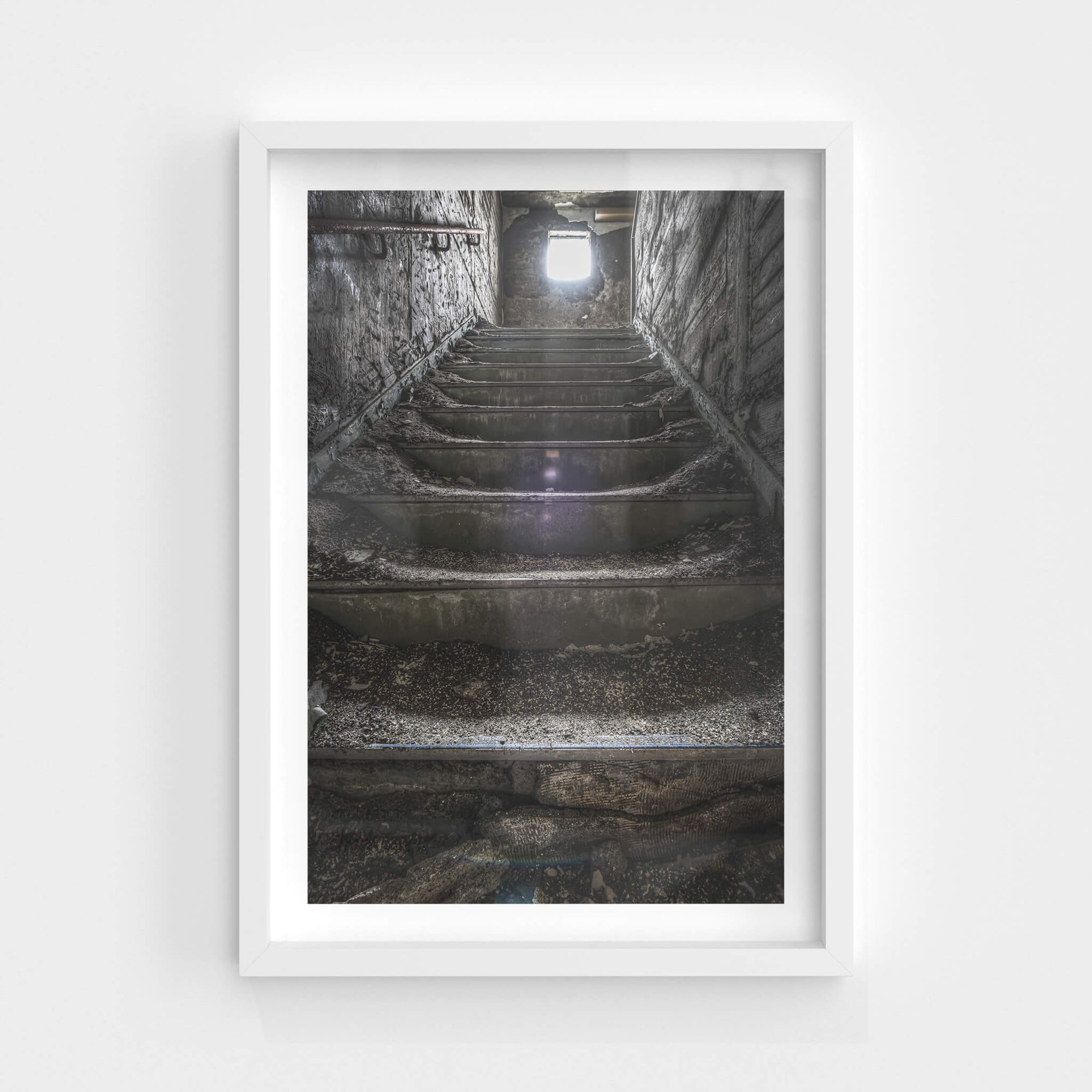 Staircase | Kuwashima Hospital Fine Art Print - Lost Collective Shop