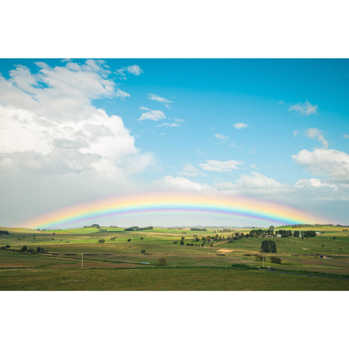 Blayney Rainbow | Landscapes Fine Art Print - Lost Collective Shop
