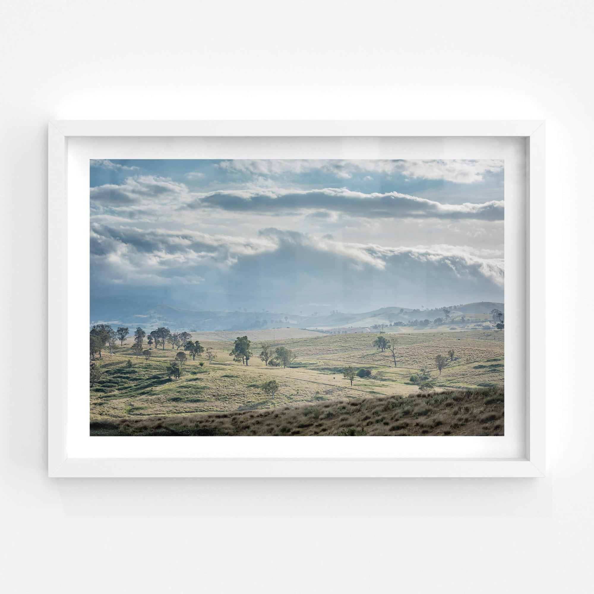 Blue Afternoon | Landscapes Fine Art Print - Lost Collective Shop