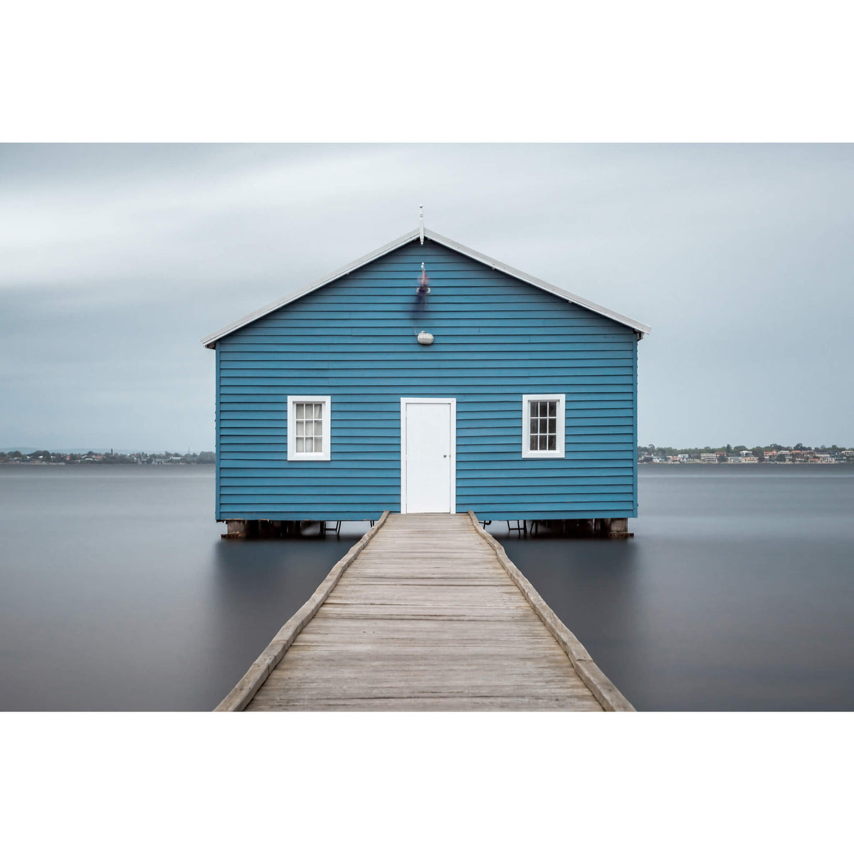 Crawley Edge Boatshed | Landscapes Fine Art Print - Lost Collective Shop