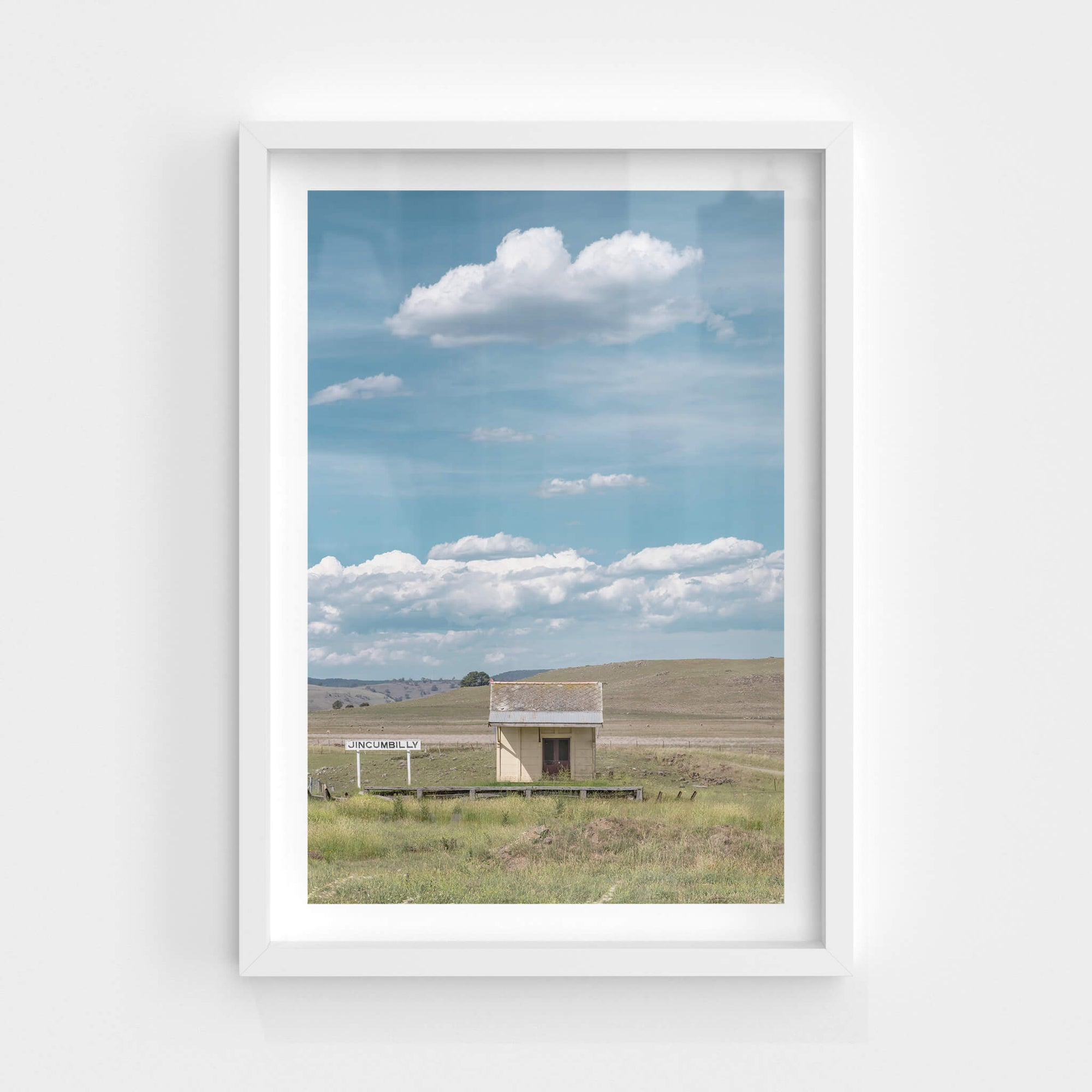 Jincumbilly Station | Landscapes Fine Art Print - Lost Collective Shop