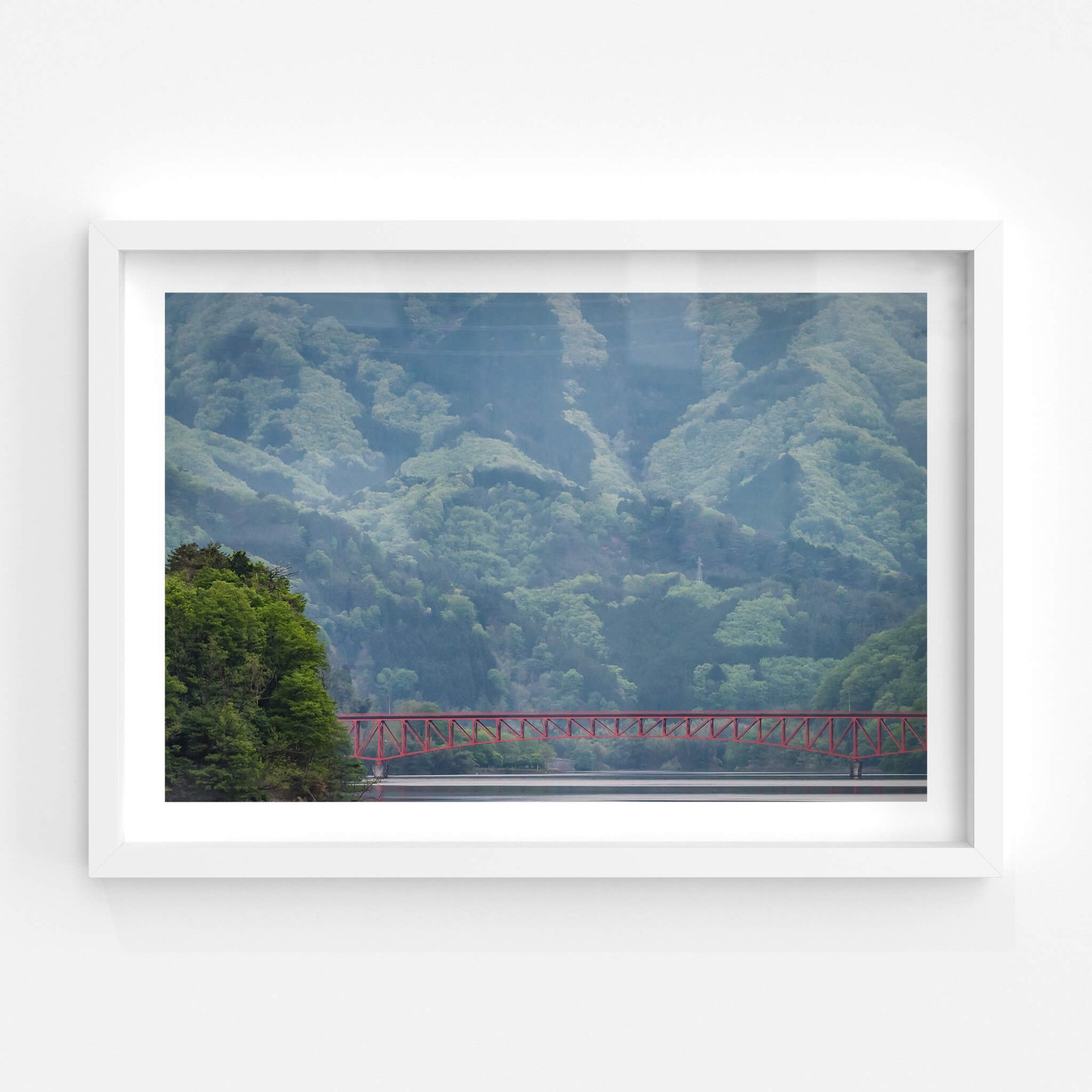 Kusaki Dam Lake | Landscapes Fine Art Print - Lost Collective Shop