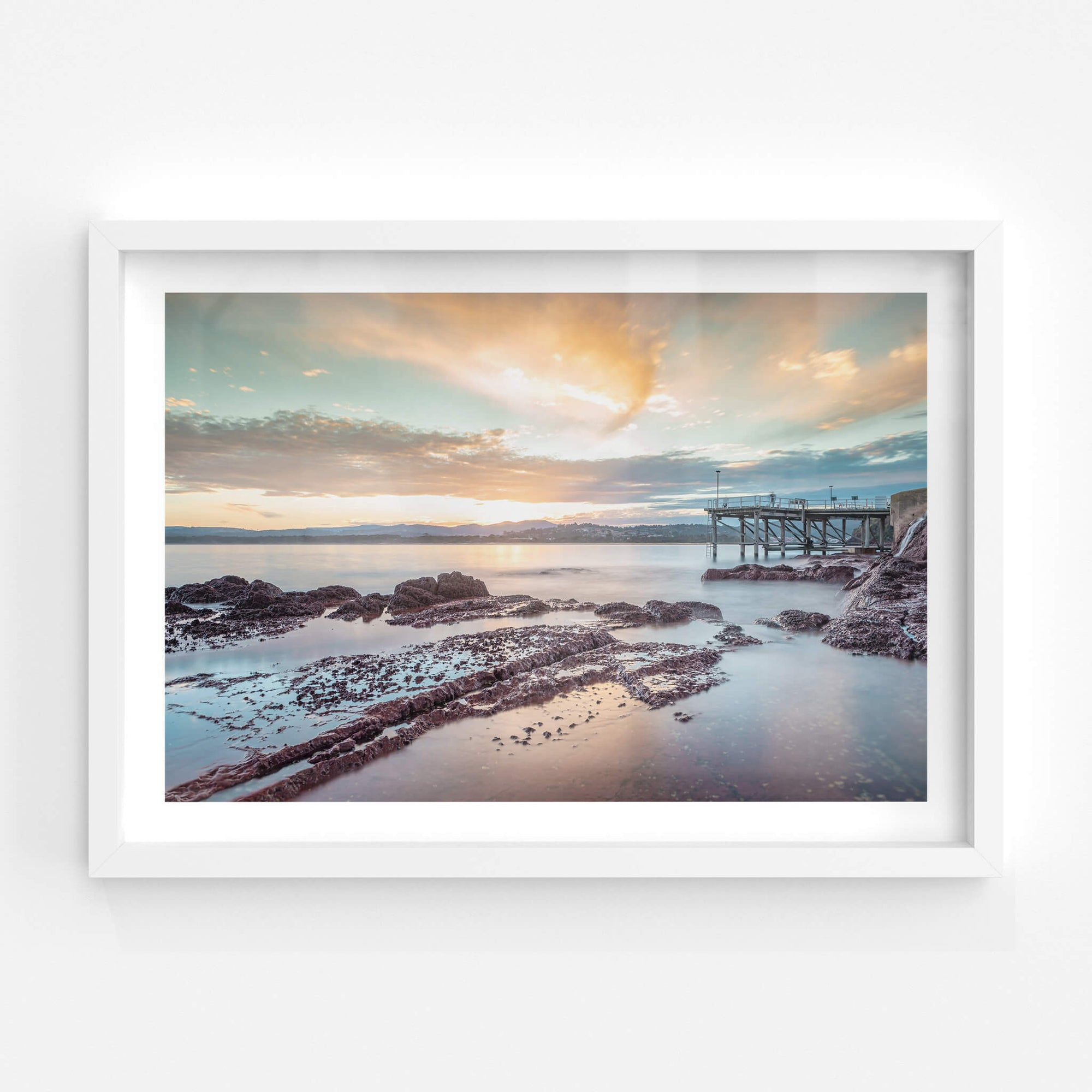 Merimbula Wharf | Landscapes Fine Art Print - Lost Collective Shop