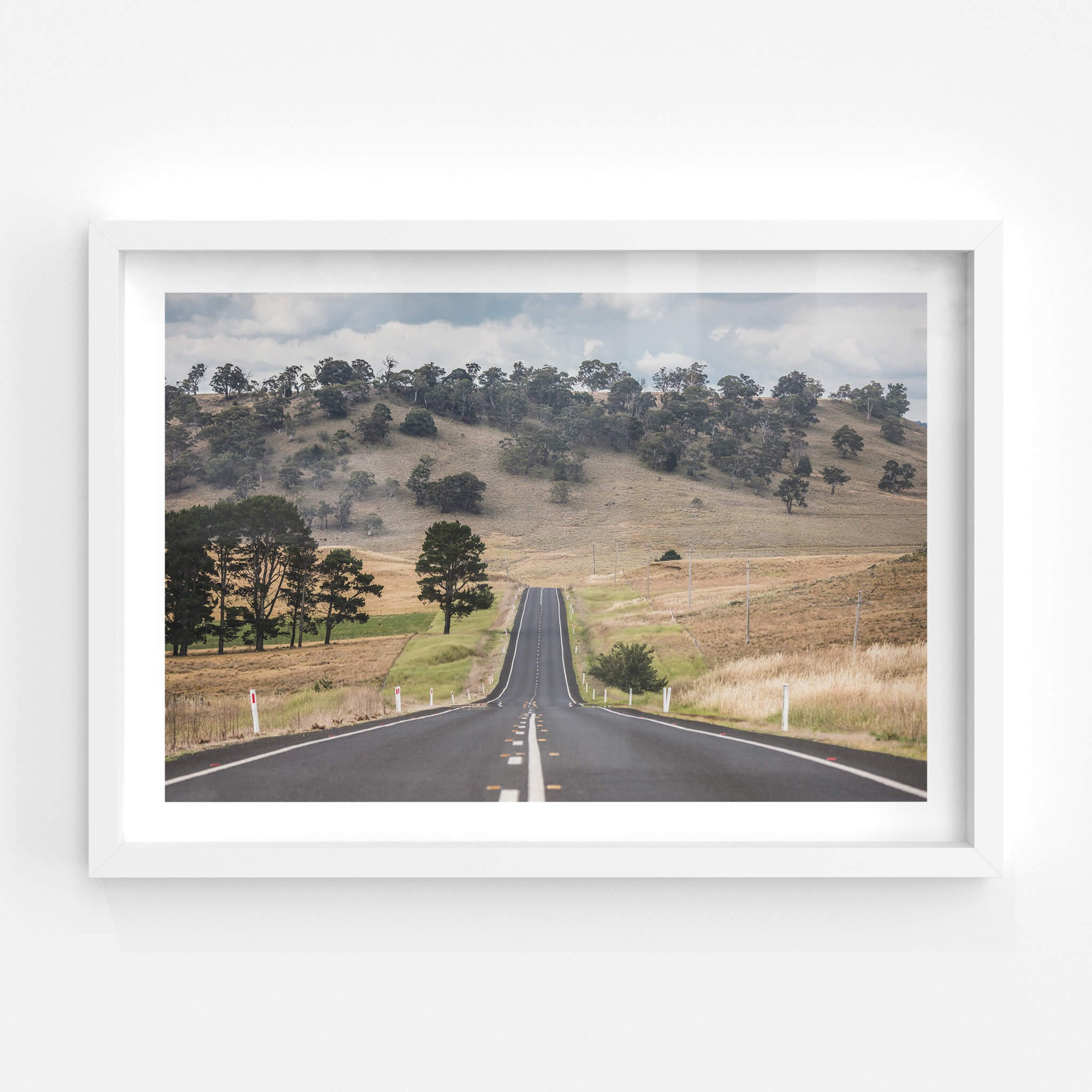 Monaro Highway | Landscapes Fine Art Print - Lost Collective Shop