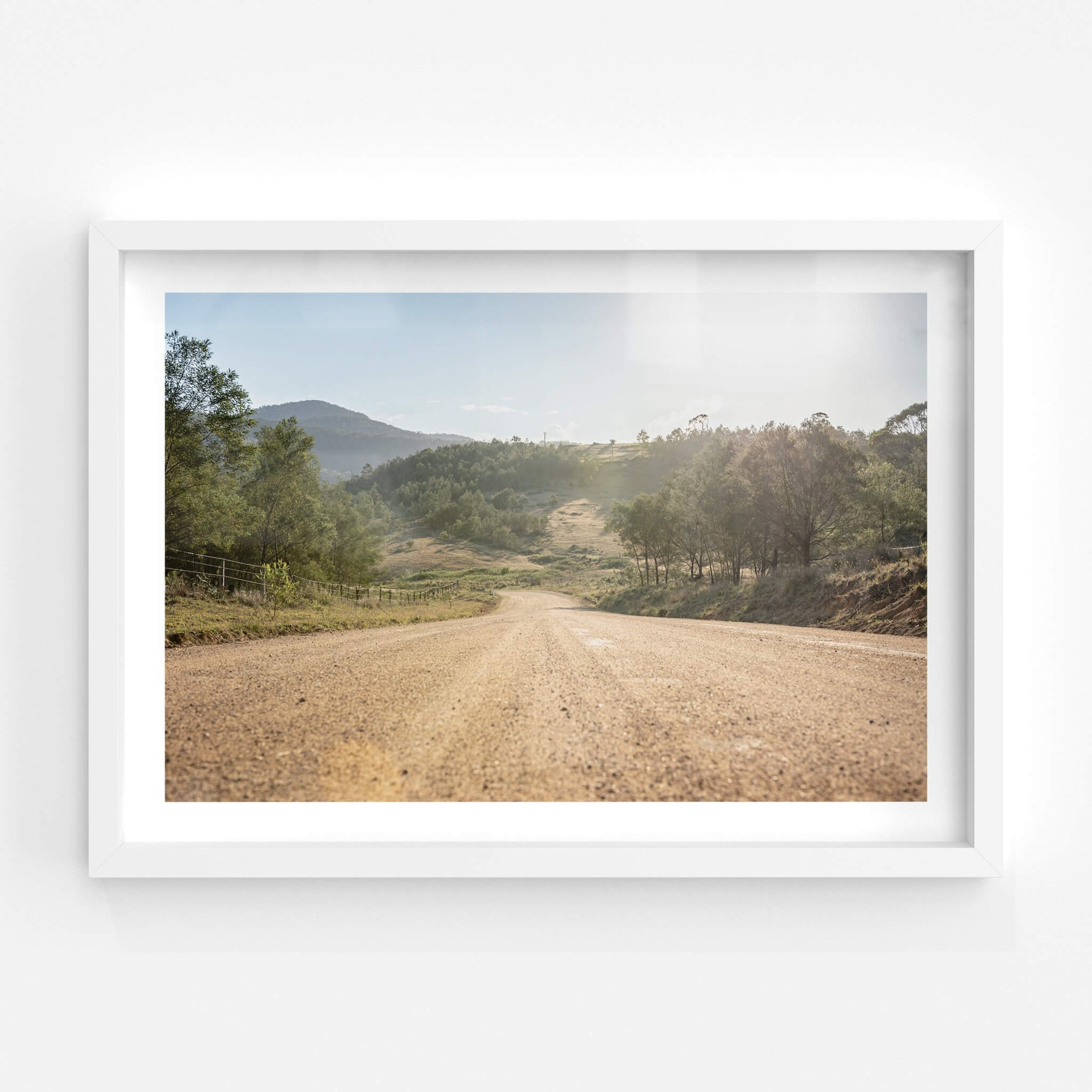 New Buildings Road | Landscapes Fine Art Print - Lost Collective Shop