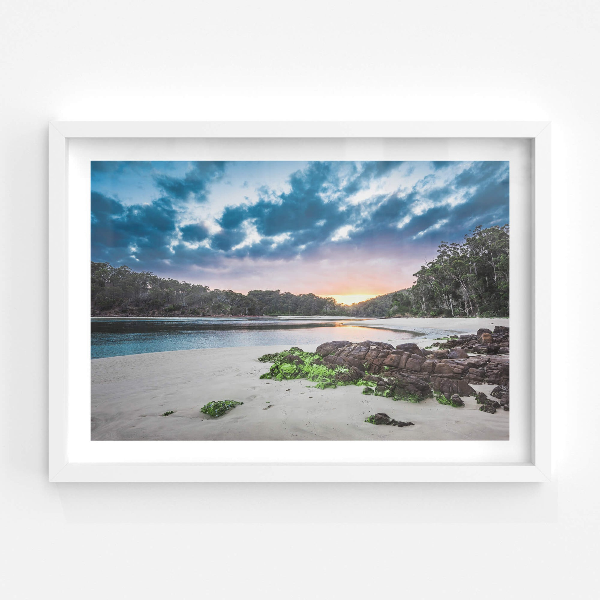 Pambula River Sunset | Landscapes Fine Art Print - Lost Collective Shop