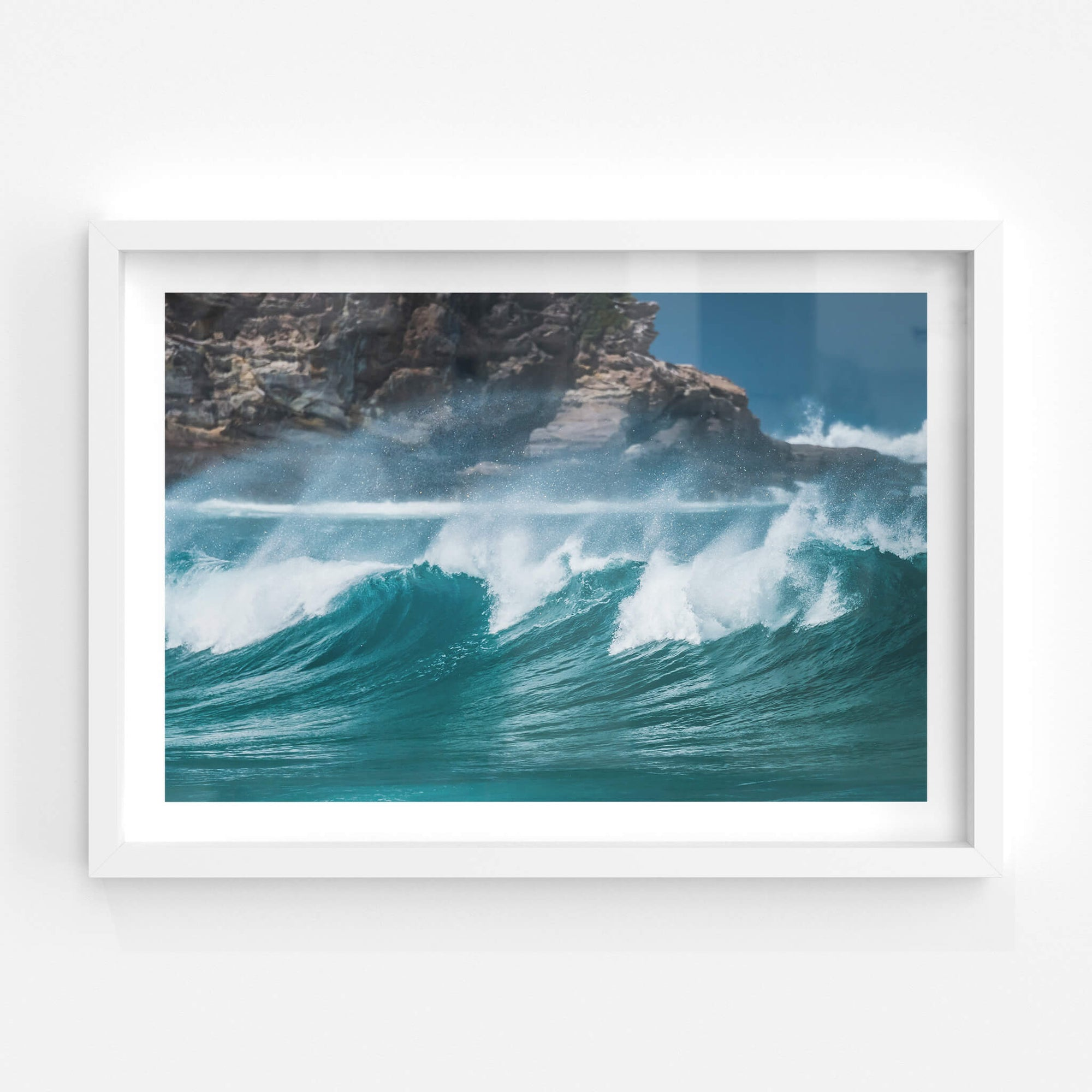 Tura Beach Waves | Landscapes Fine Art Print - Lost Collective Shop