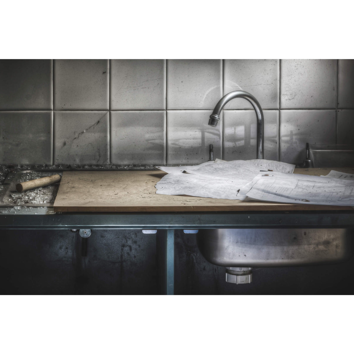 Laboratory Tap | Macquarie Boys Technology High Fine Art Print - Lost Collective Shop