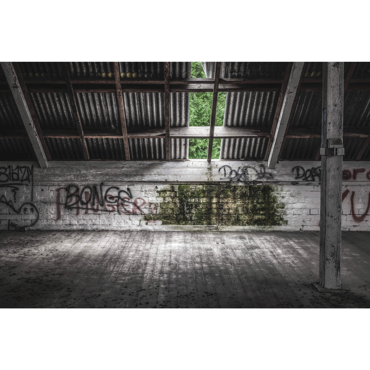 Attic Opening | Mittagong Maltings Fine Art Print - Lost Collective Shop