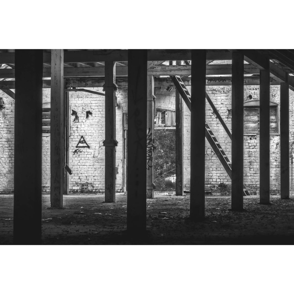 Malthouse One West | Mittagong Maltings Fine Art Print - Lost Collective Shop