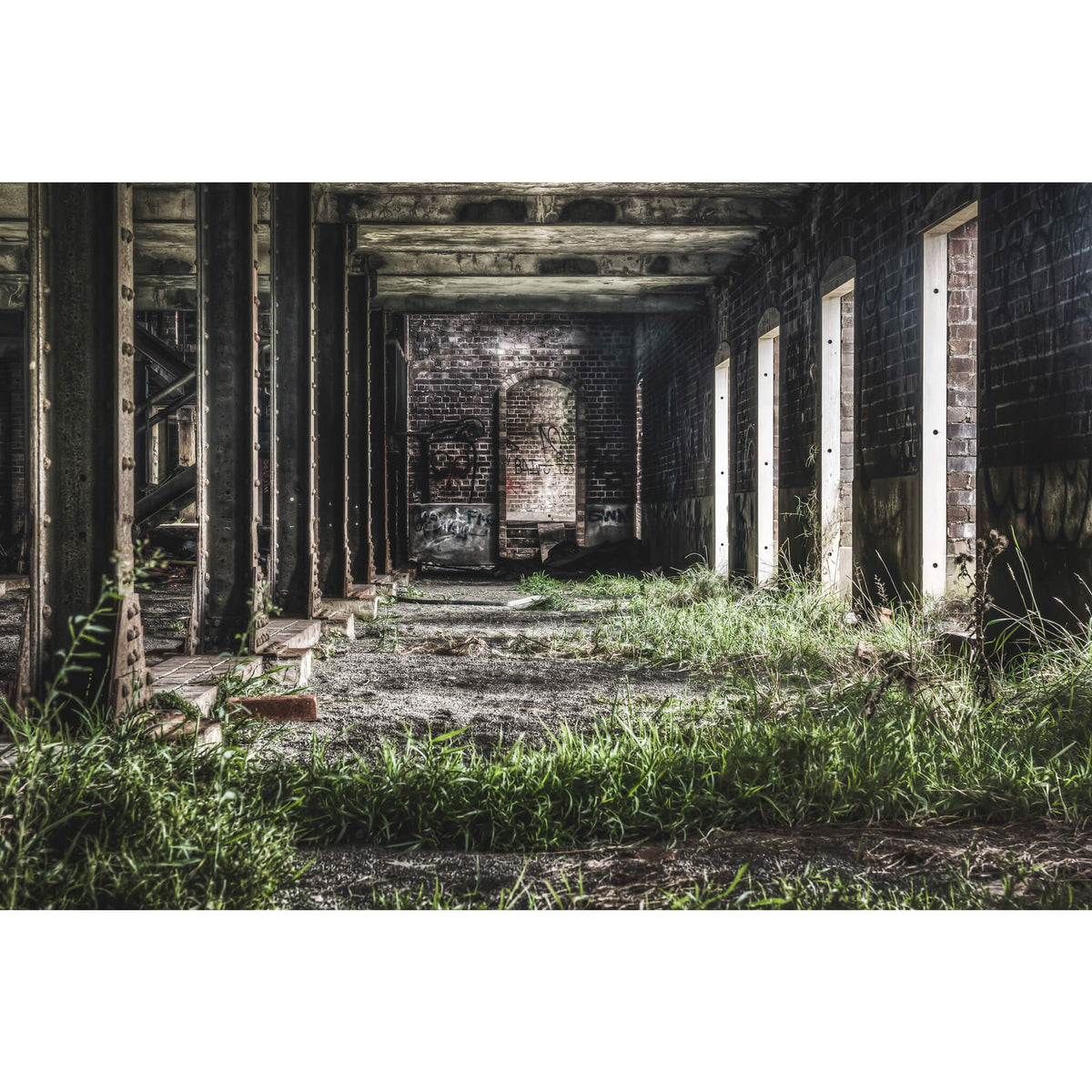 Malthouse Three Basement | Mittagong Maltings Fine Art Print - Lost Collective Shop
