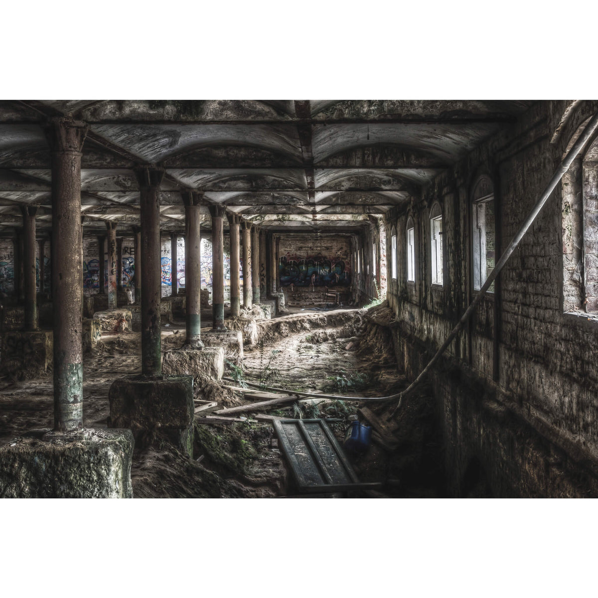 Malthouse Two Basement | Mittagong Maltings Fine Art Print - Lost Collective Shop