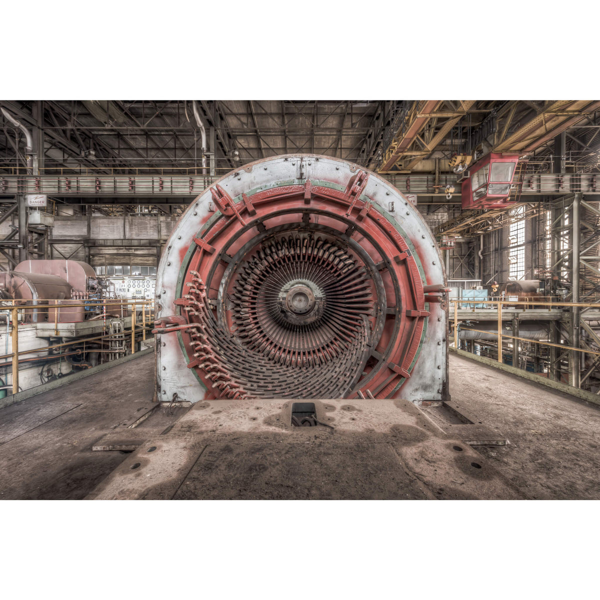 Generator | Morwell Power Station Fine Art Print - Lost Collective Shop